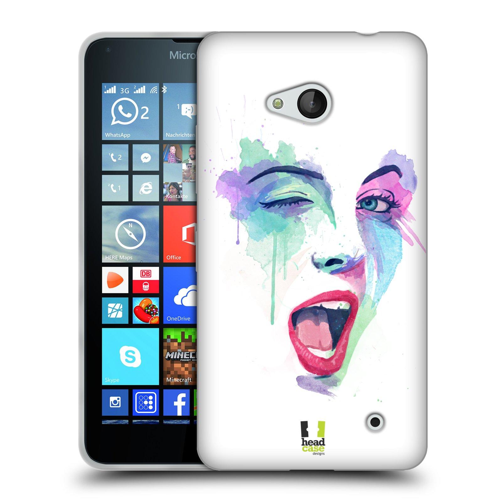 HEAD CASE silikonový obal na mobil Microsoft   Nokia Lumia 640   Lumia 640  DUAL vzor empty 1be05f6ca5d