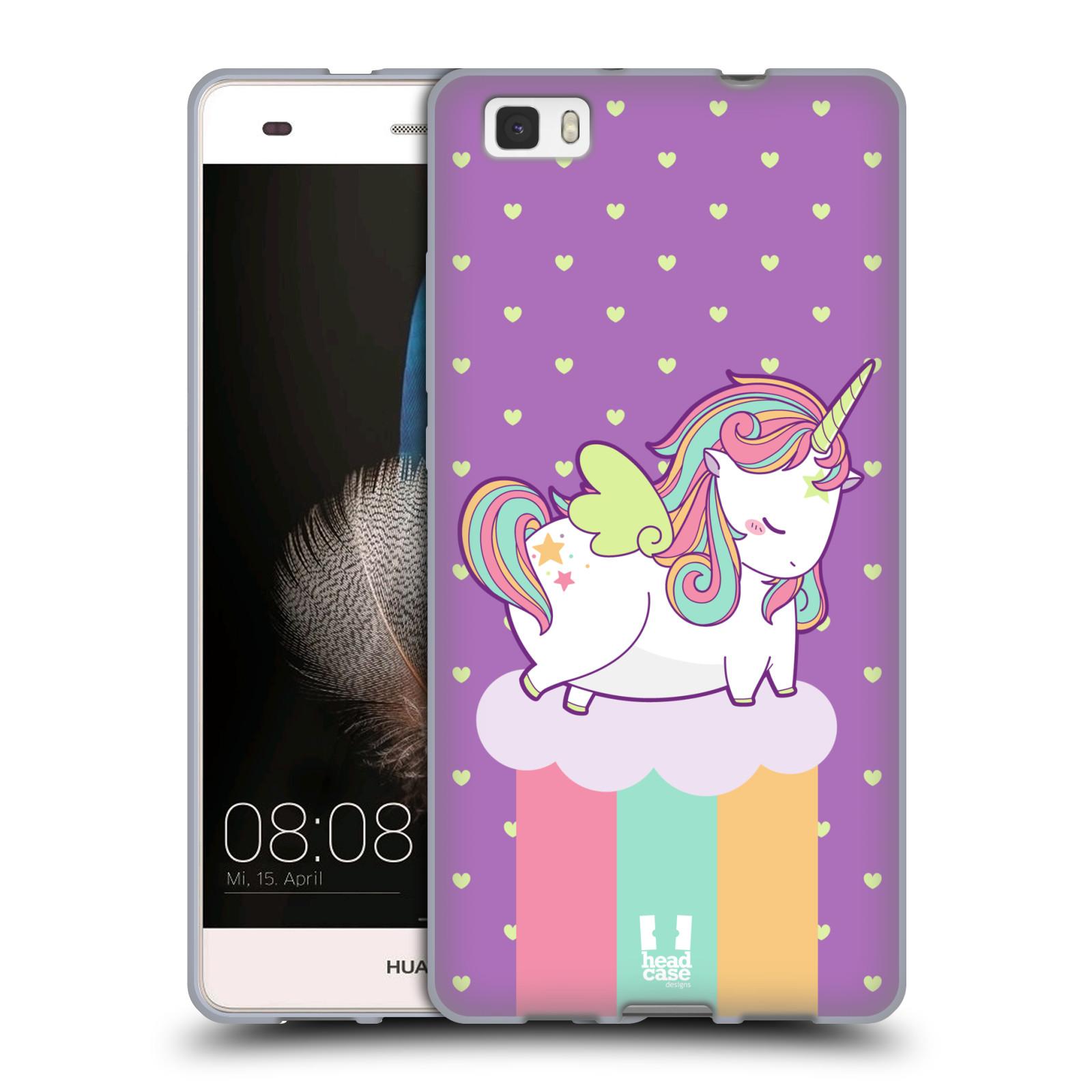 custodia huawei p8 lite unicorno
