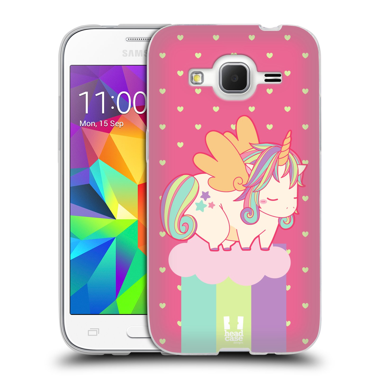 Cover head case unicorno chubby in silicone gel custodia for Prime case in nuova inghilterra