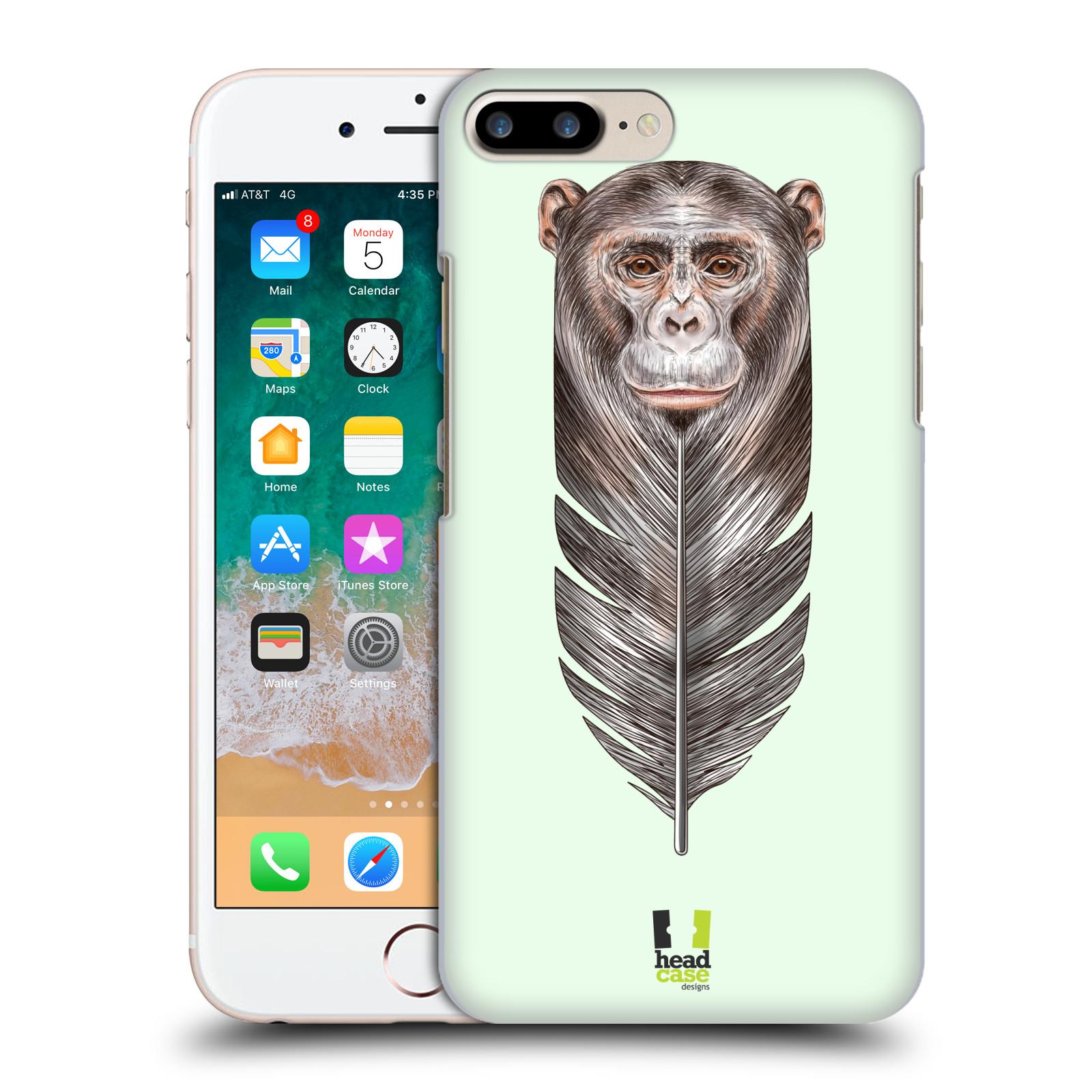 HEAD CASE plastový obal na mobil Apple Iphone 7 PLUS vzor zvířecí opice