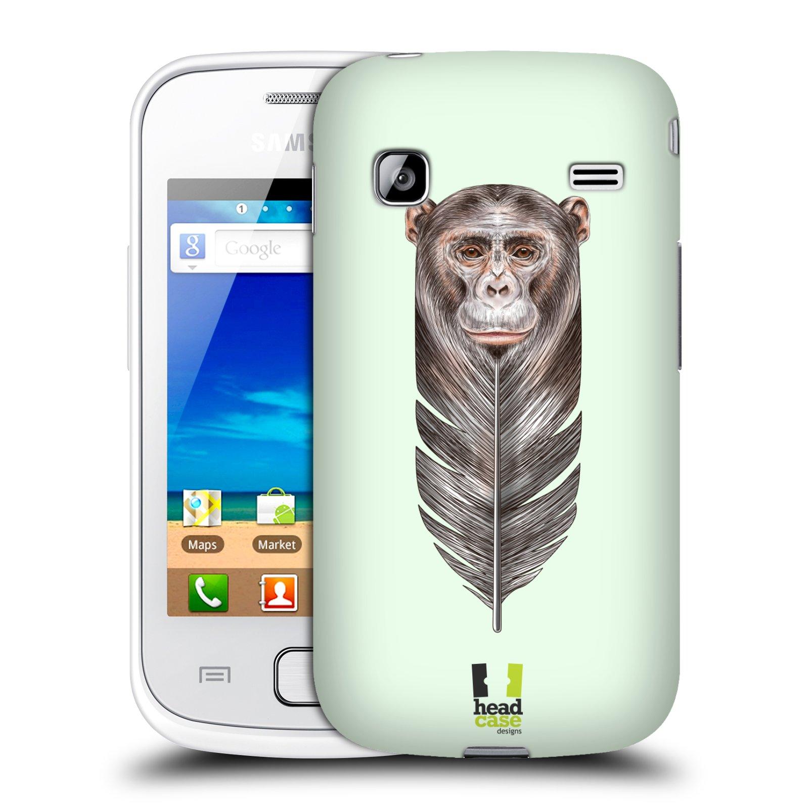 HEAD CASE plastový obal na mobil SAMSUNG GALAXY GIO (S5660) vzor zvířecí opice