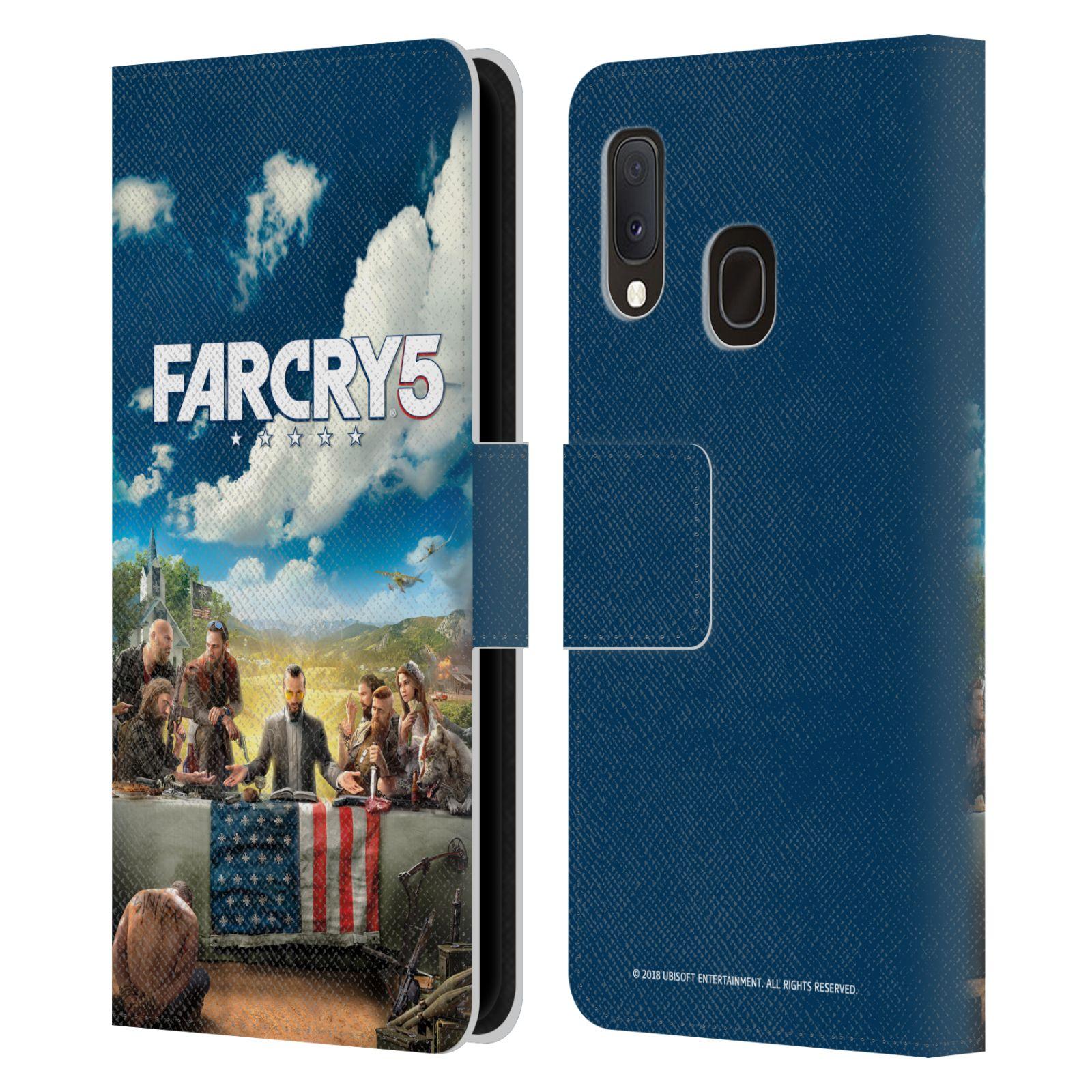Pouzdro na mobil Samsung Galaxy A20e - Head Case - Far Cry 5 poslední večeře