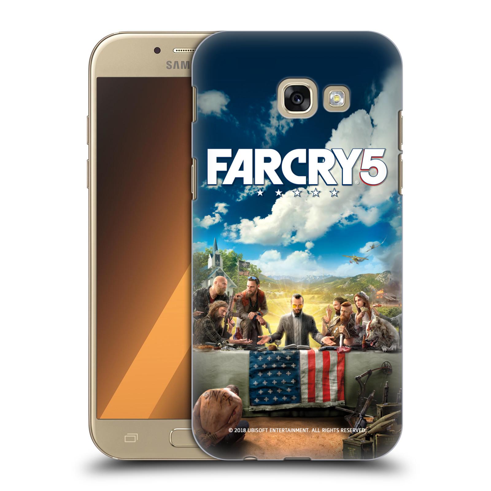 Pouzdro na mobil Samsung Galaxy A5 2017 (A520) - HEAD CASE - Far Cry 5 poslední večeře