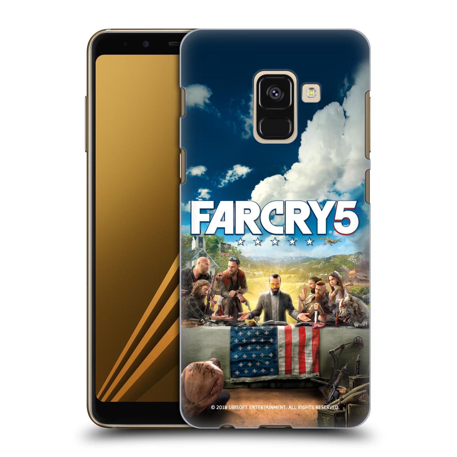 Pouzdro na mobil Samsung Galaxy A8+ 2018, A8 PLUS 2018 - HEAD CASE - Far Cry 5 poslední večeře