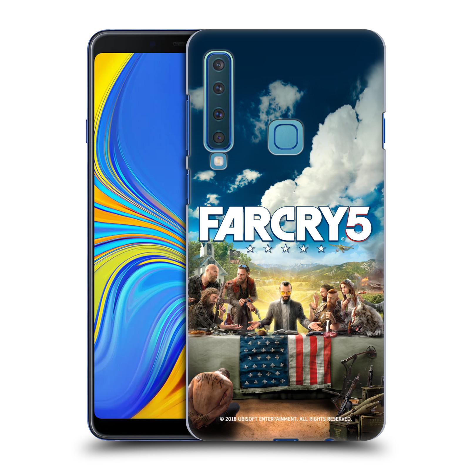 Pouzdro na mobil Samsung Galaxy A9 2018 - HEAD CASE - Far Cry 5 poslední večeře