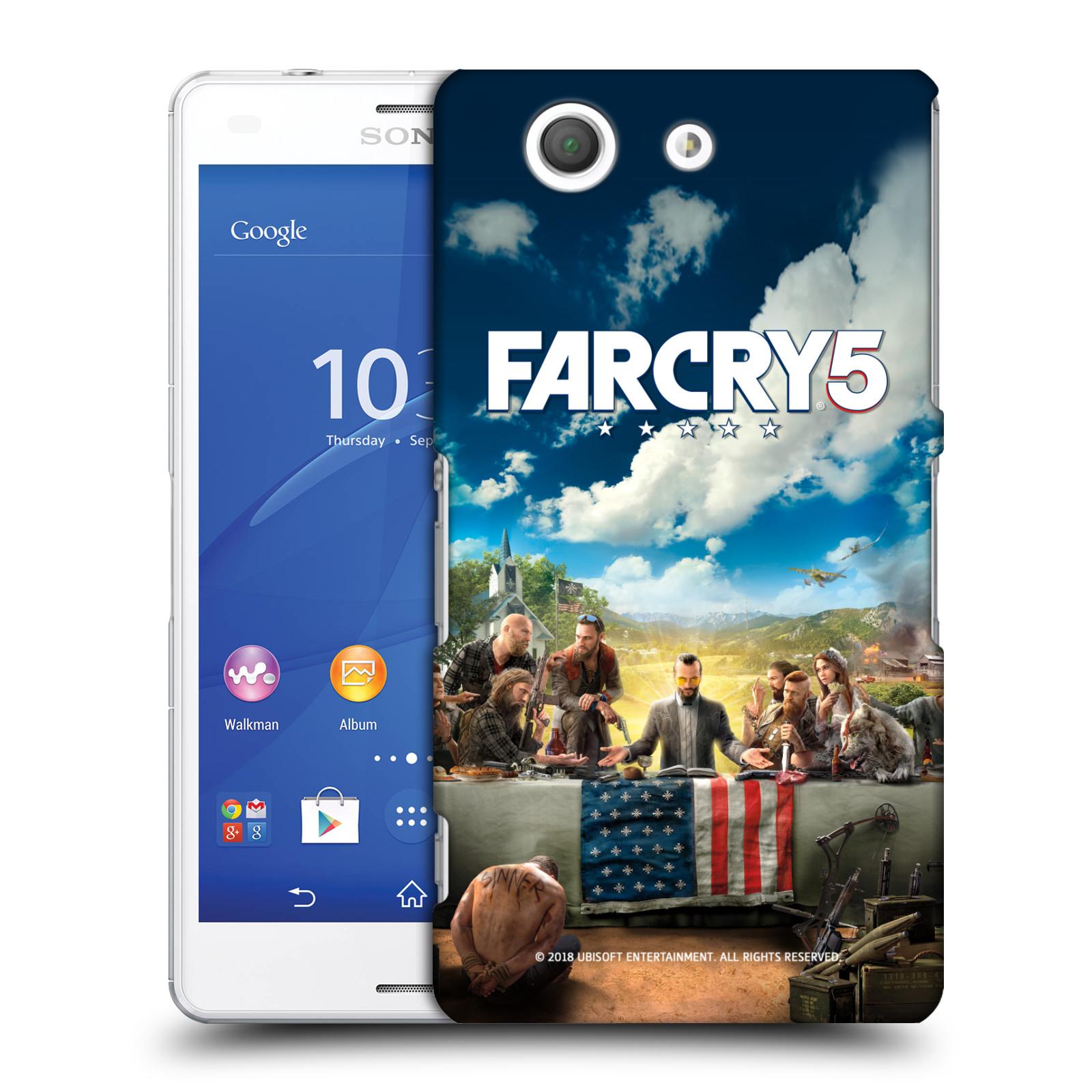 Pouzdro na mobil Sony Xperia Z3 COMPACT - HEAD CASE - Far Cry 5 poslední večeře