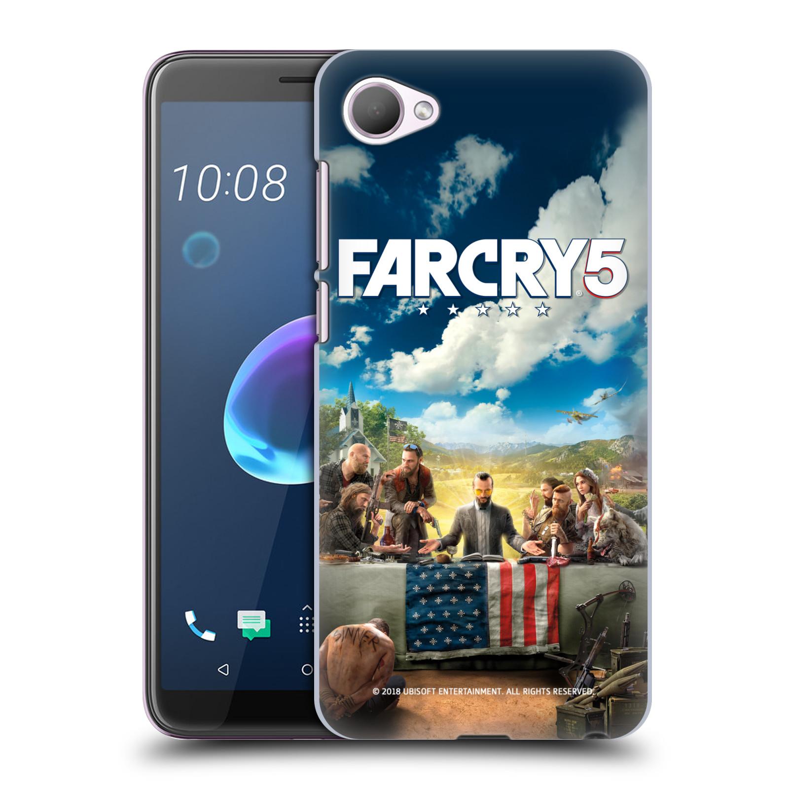 Pouzdro na mobil HTC Desire 12 / Desire 12 DUAL SIM - HEAD CASE - Far Cry 5 poslední večeře