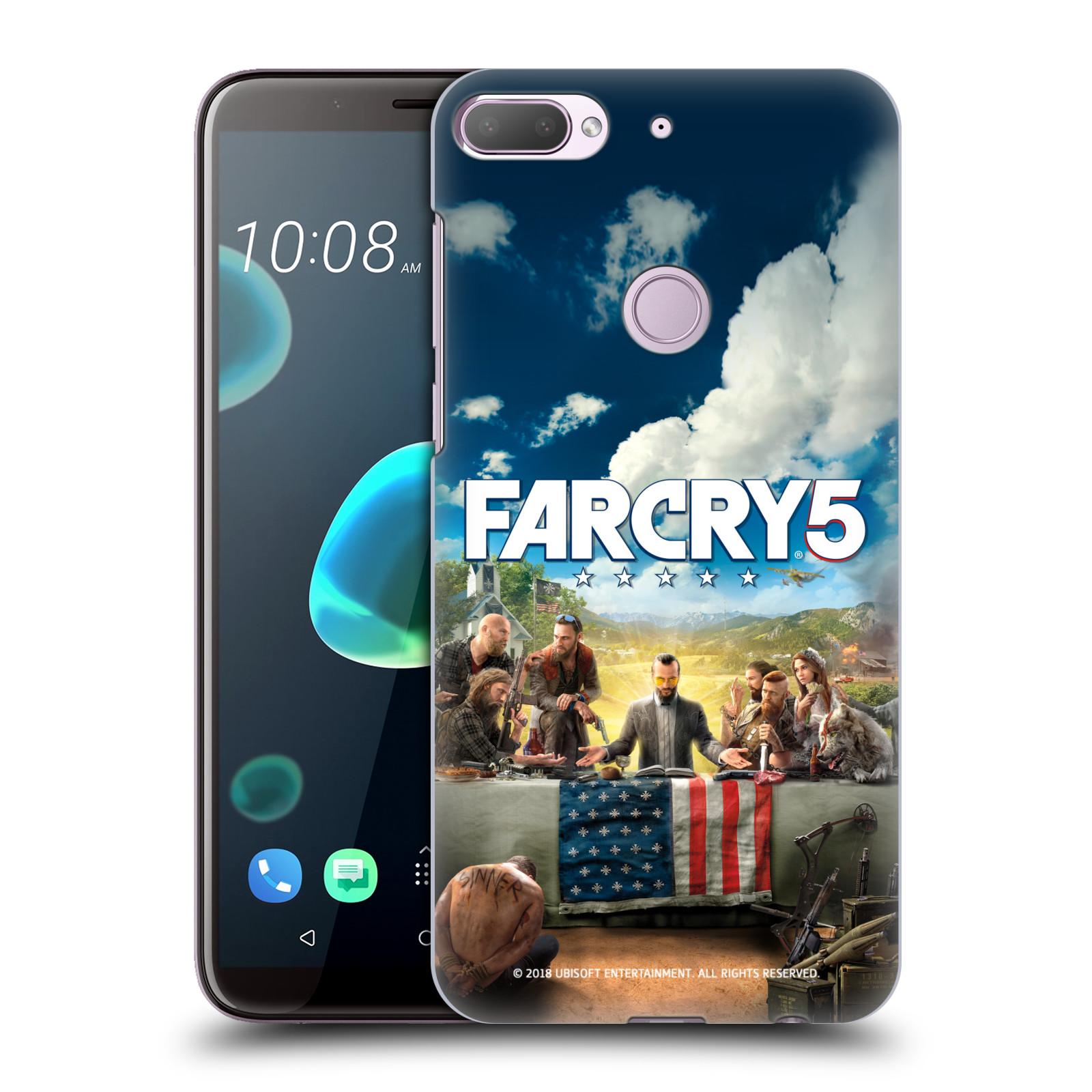 Pouzdro na mobil HTC Desire 12+ / Desire 12+ DUAL SIM - HEAD CASE - Far Cry 5 poslední večeře