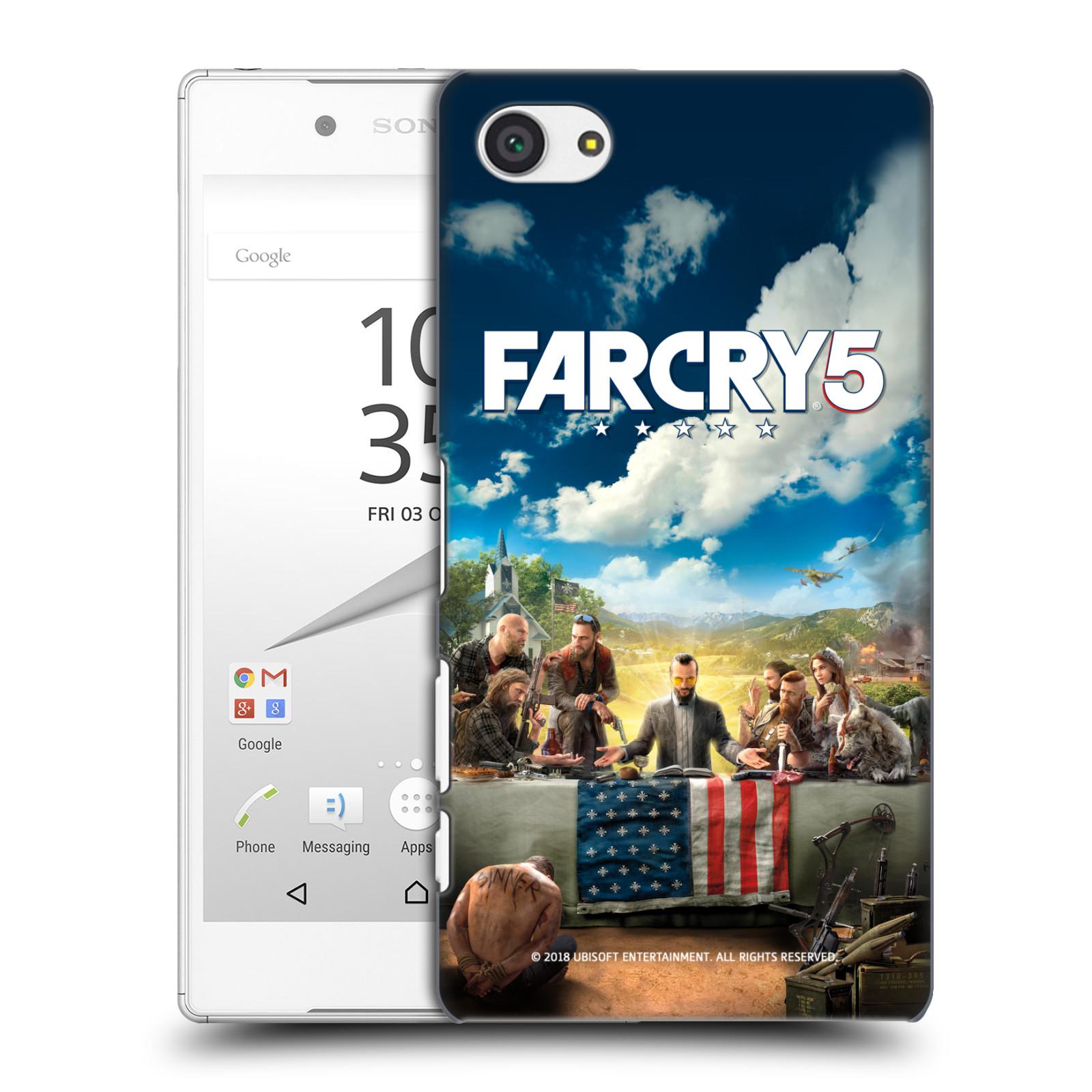 Pouzdro na mobil Sony Xperia Z5 COMPACT - HEAD CASE - Far Cry 5 poslední večeře