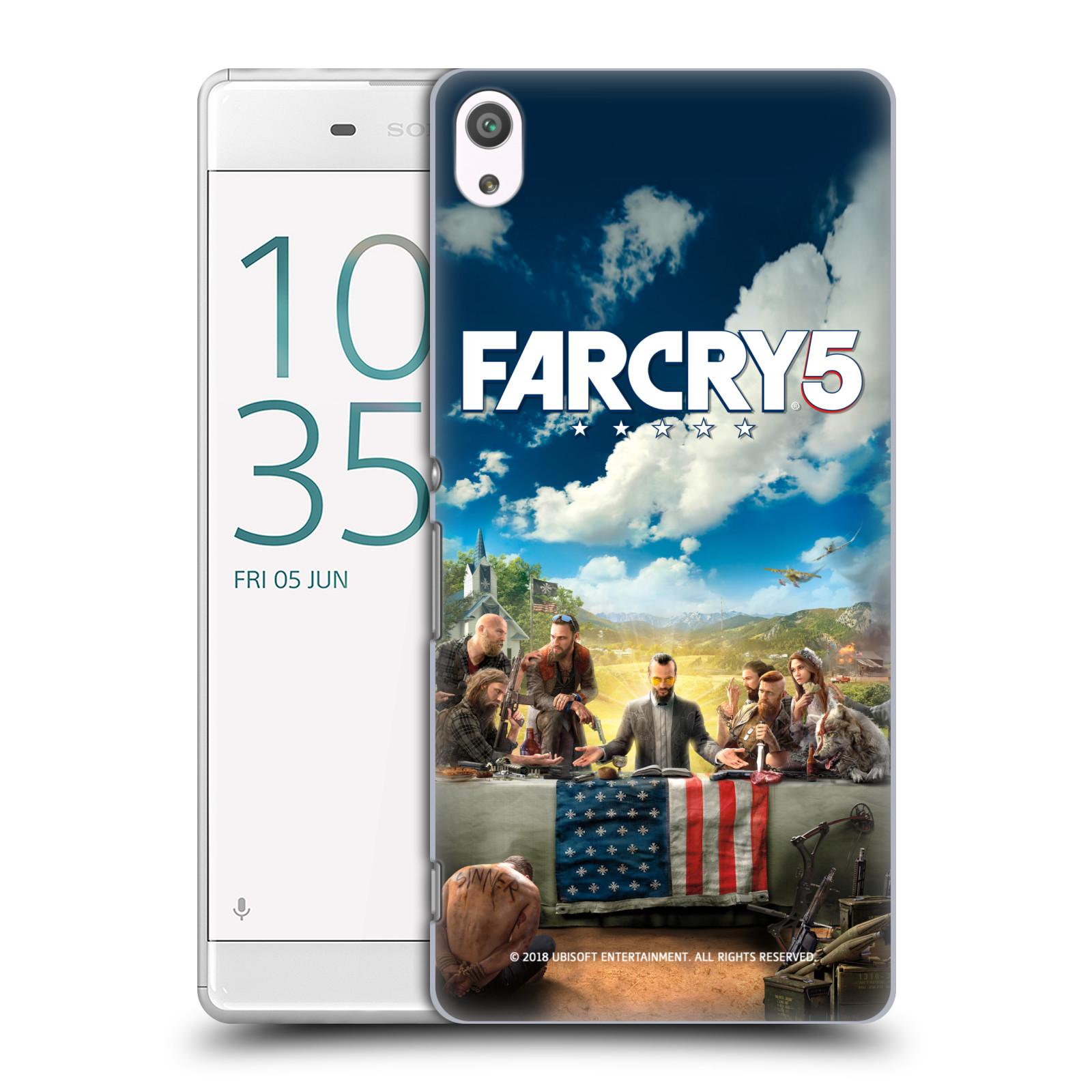 Pouzdro na mobil Sony Xperia XA ULTRA - HEAD CASE - Far Cry 5 poslední večeře