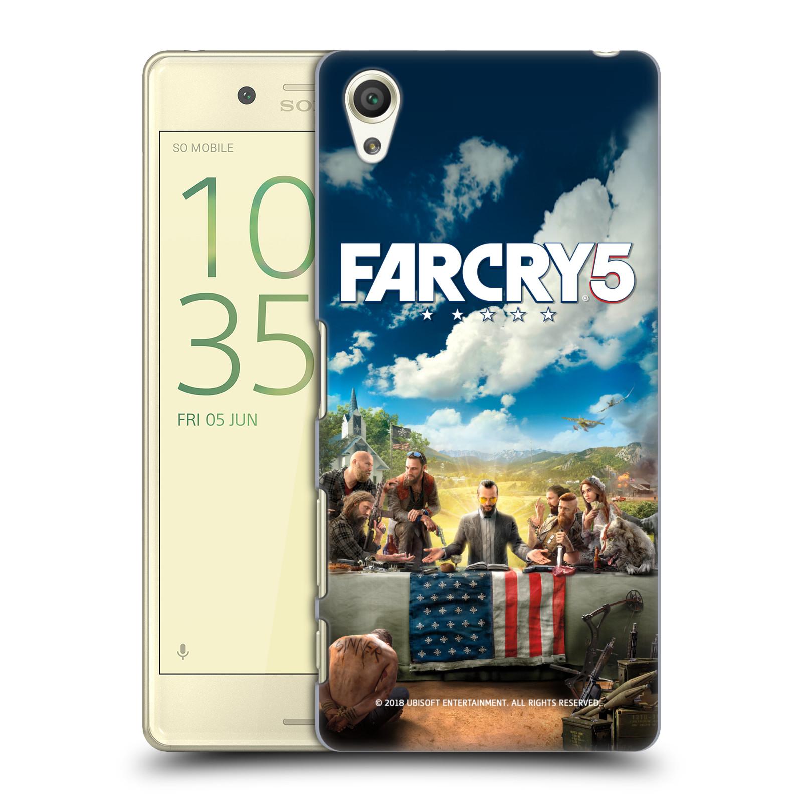 Pouzdro na mobil Sony Xperia X - HEAD CASE - Far Cry 5 poslední večeře