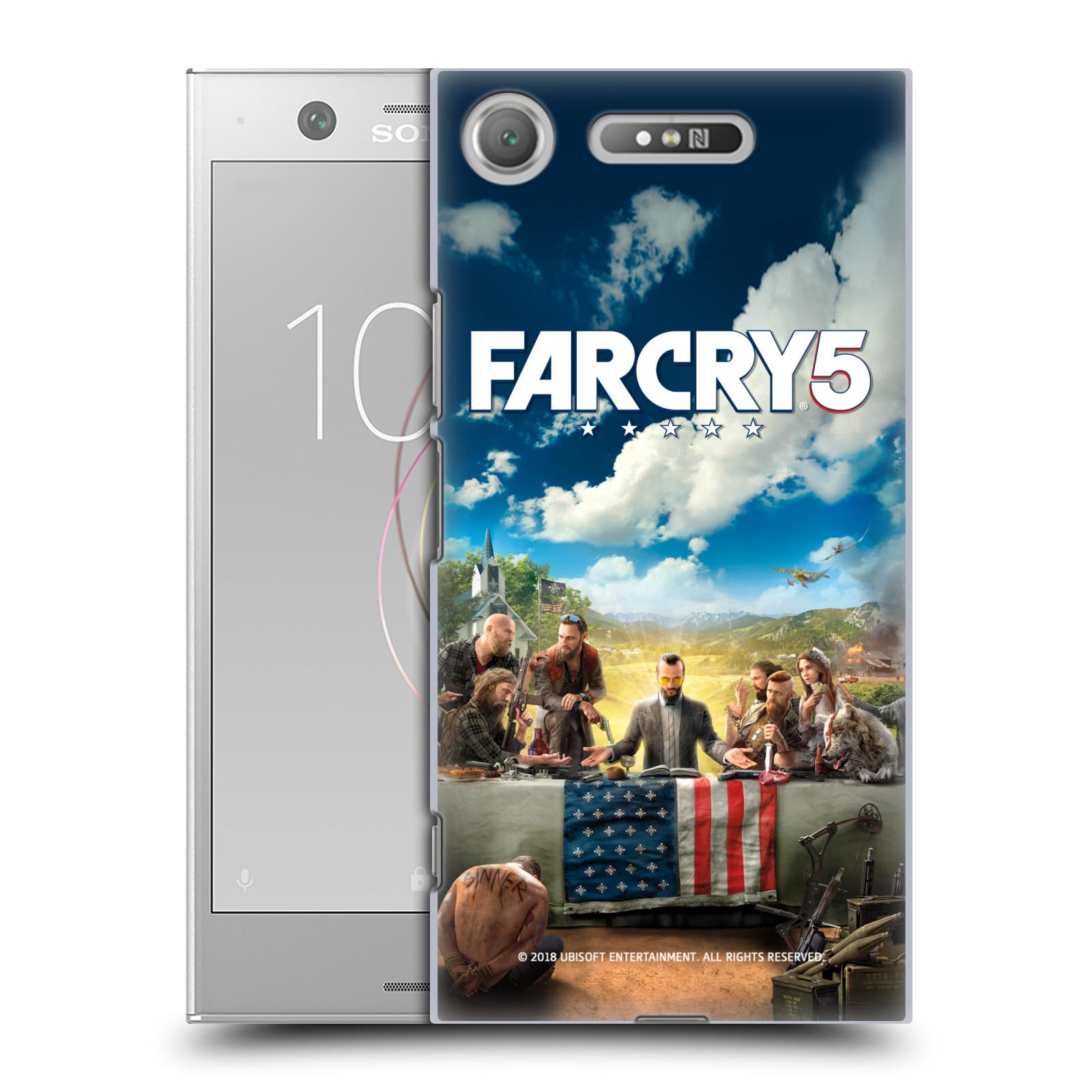 Pouzdro na mobil Sony Xperia XZ1 - HEAD CASE - Far Cry 5 poslední večeře