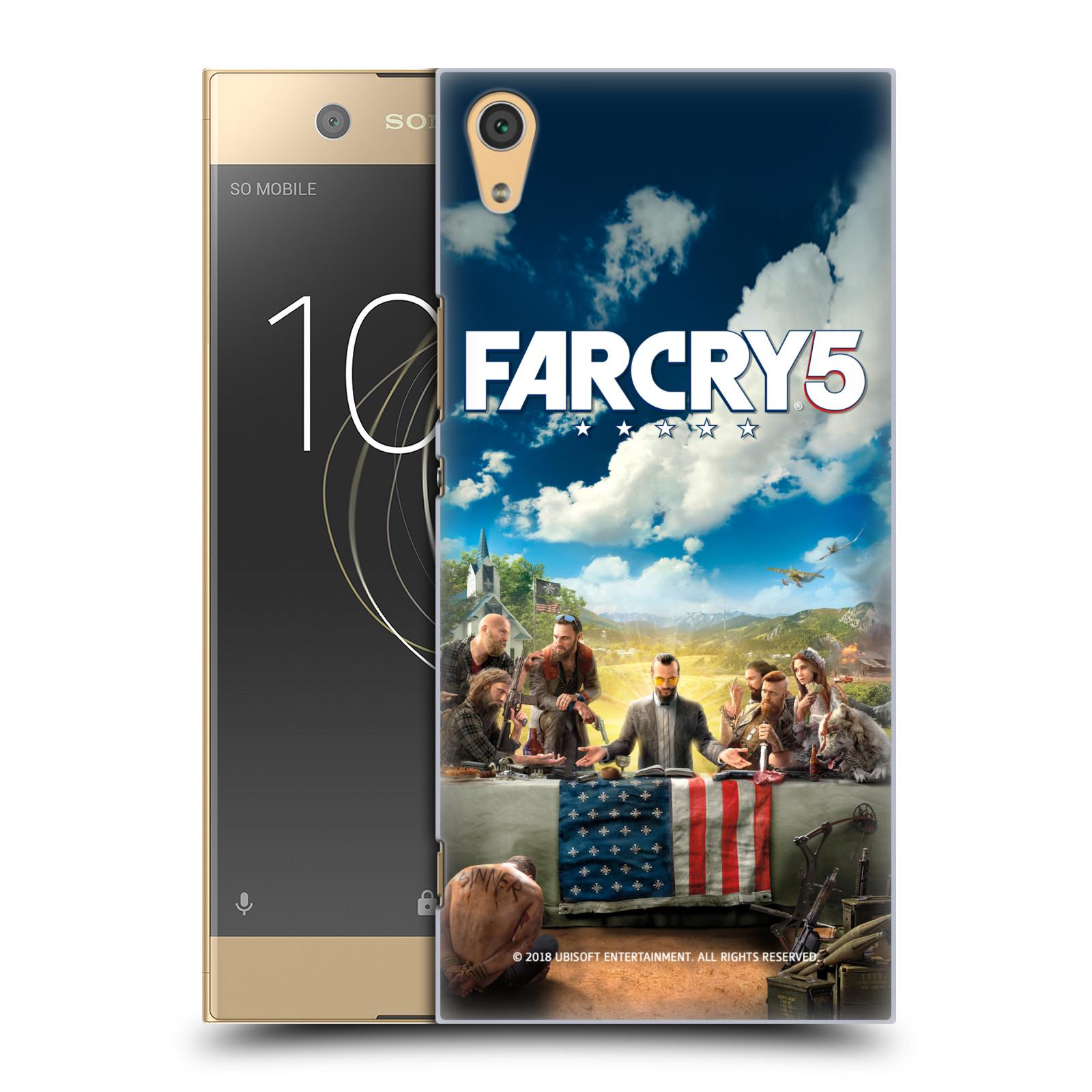 Pouzdro na mobil Sony Xperia XA1 ULTRA - HEAD CASE - Far Cry 5 poslední večeře