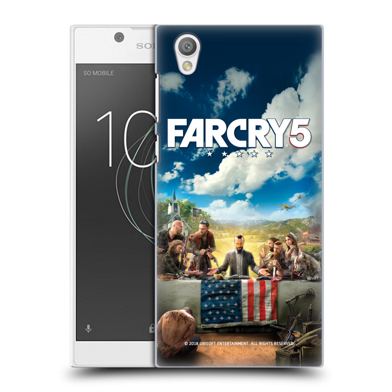 Pouzdro na mobil Sony Xperia L1 - HEAD CASE - Far Cry 5 poslední večeře