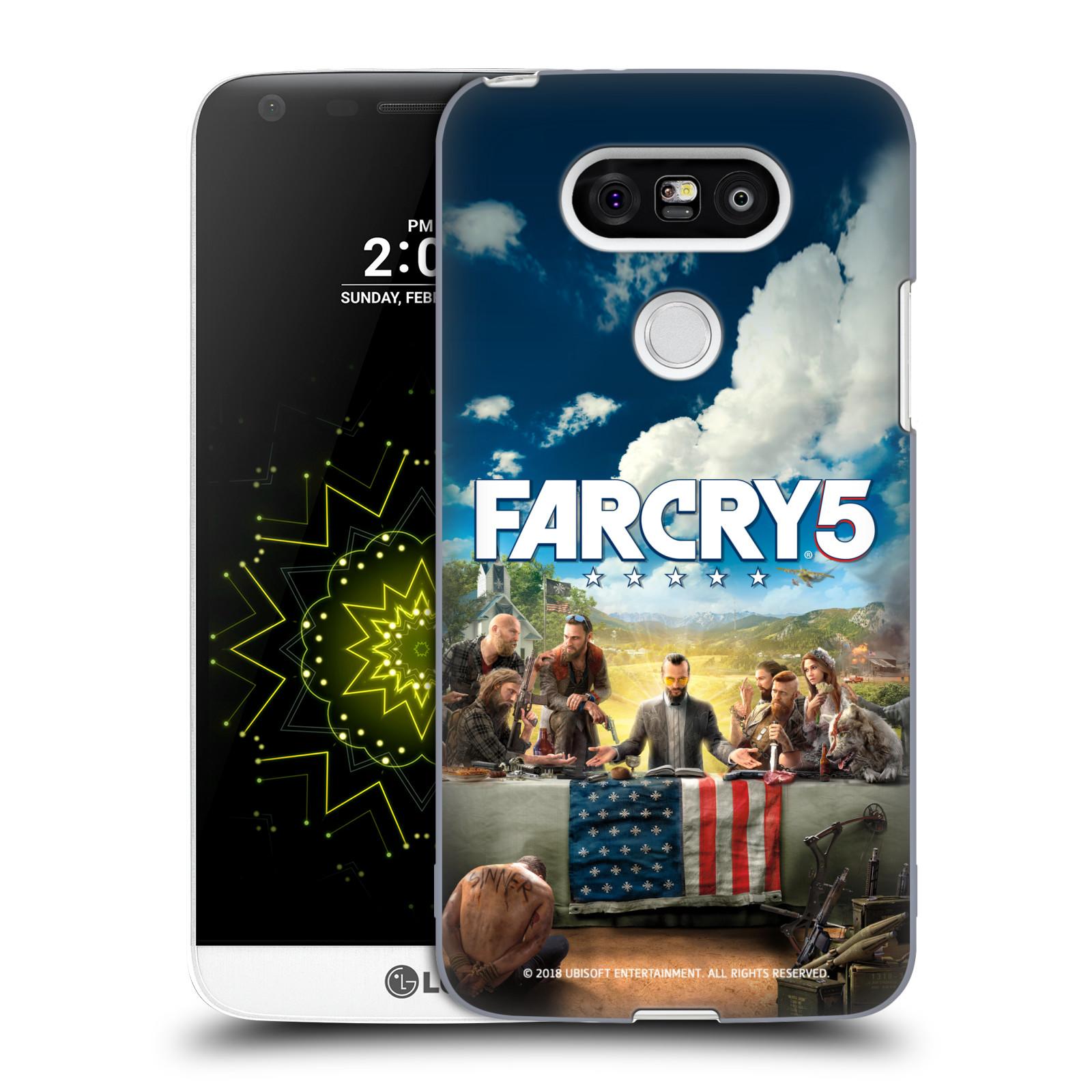 Pouzdro na mobil LG G5 - HEAD CASE - Far Cry 5 poslední večeře