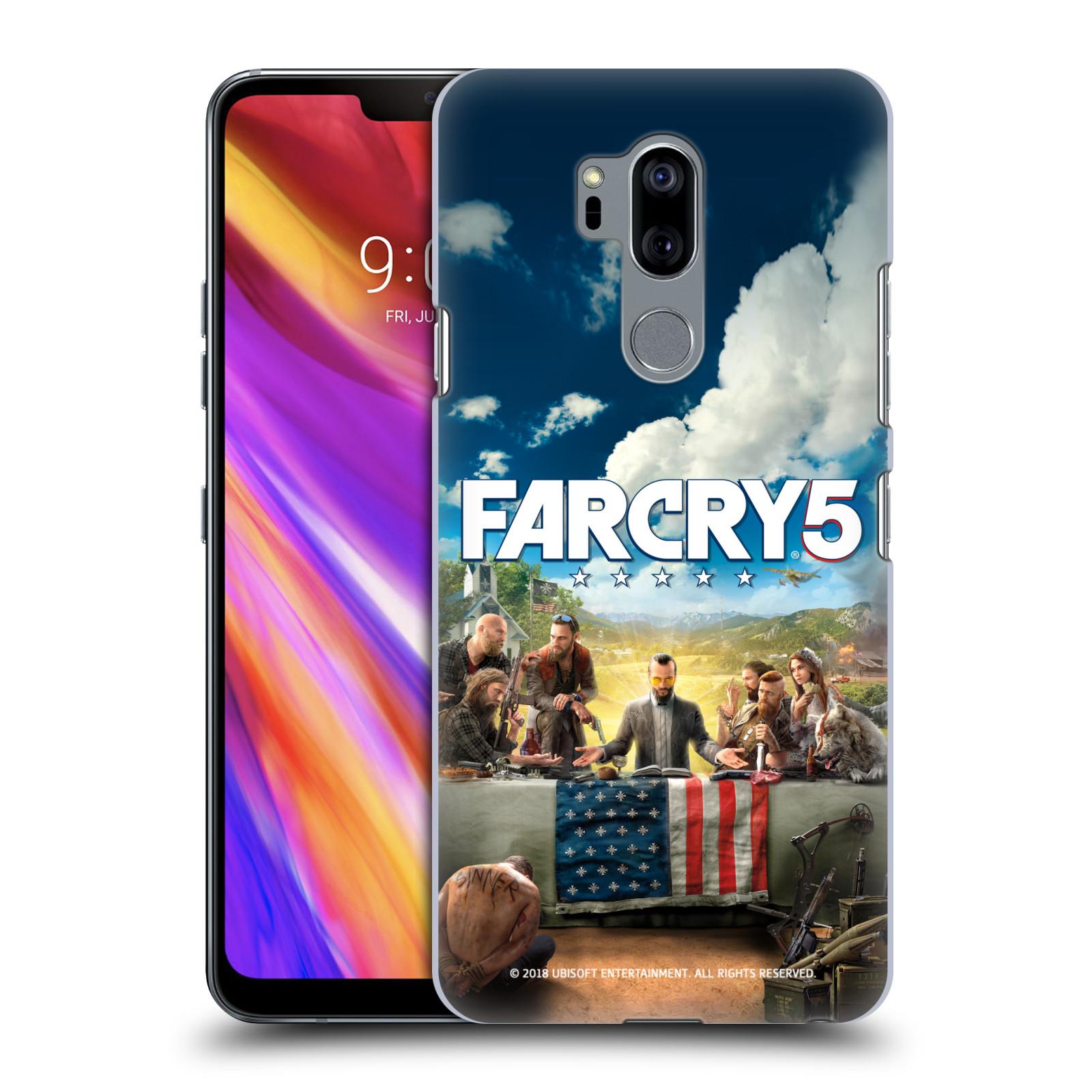 Pouzdro na mobil LG G7  ThinQ - HEAD CASE - Far Cry 5 poslední večeře