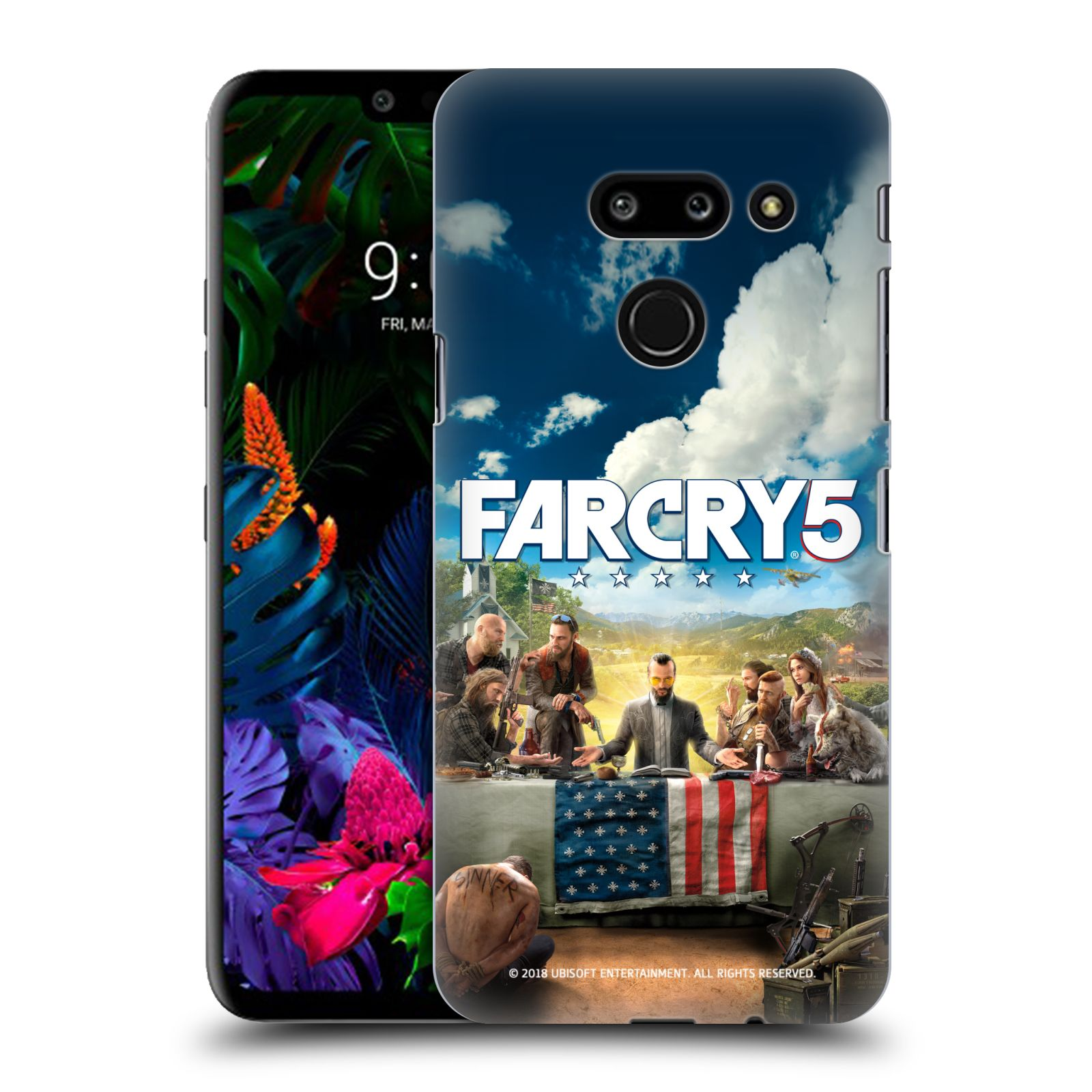 Pouzdro na mobil LG G8 ThinQ - HEAD CASE - Far Cry 5 poslední večeře