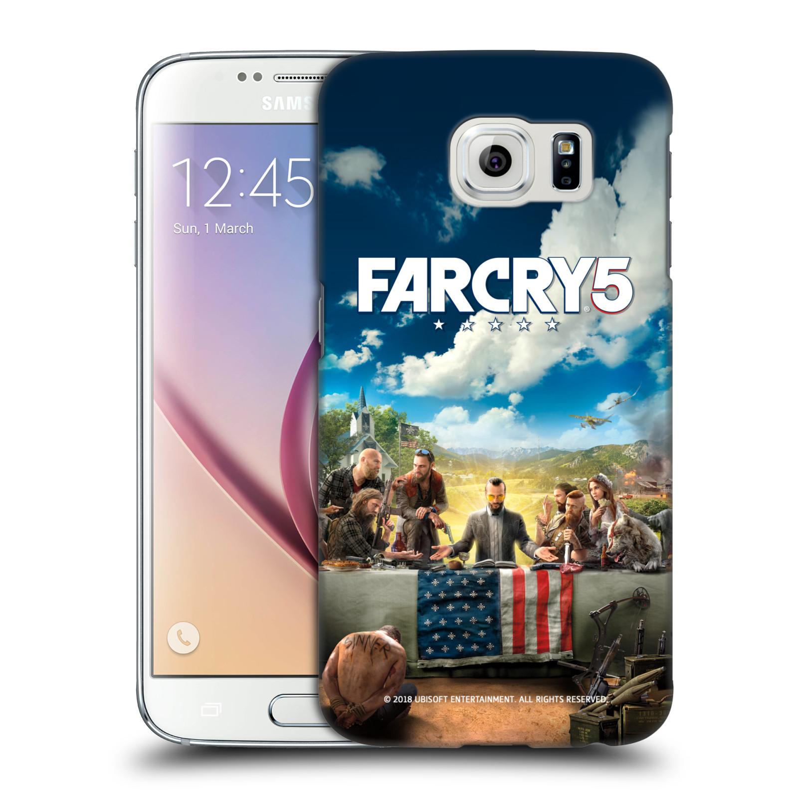 Pouzdro na mobil Samsung Galaxy S6 - HEAD CASE - Far Cry 5 poslední večeře