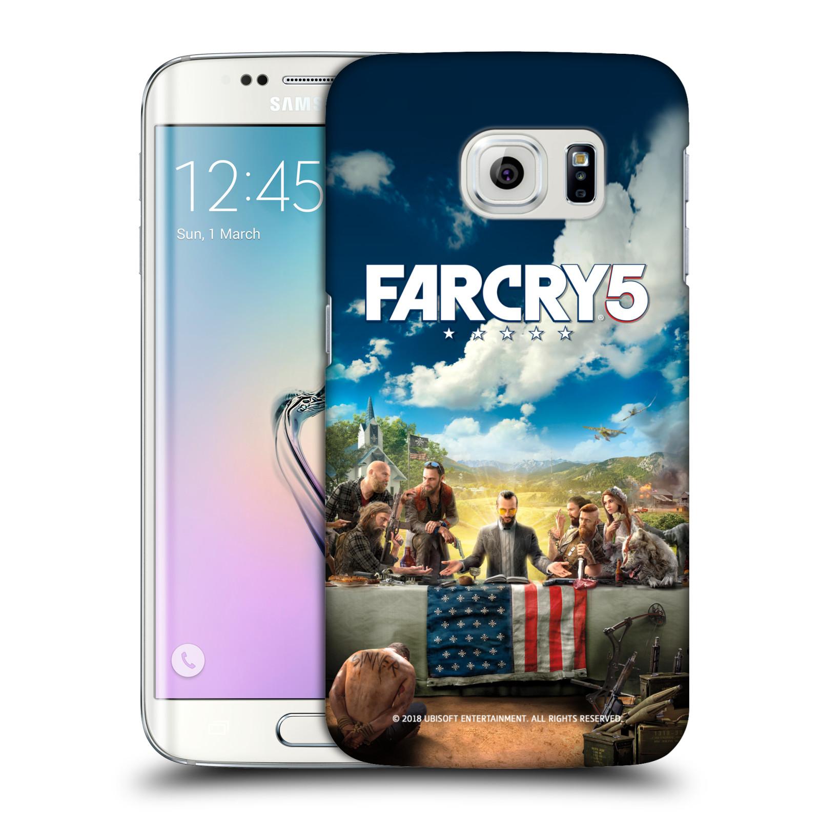 Pouzdro na mobil Samsung Galaxy S6 EDGE - HEAD CASE - Far Cry 5 poslední večeře