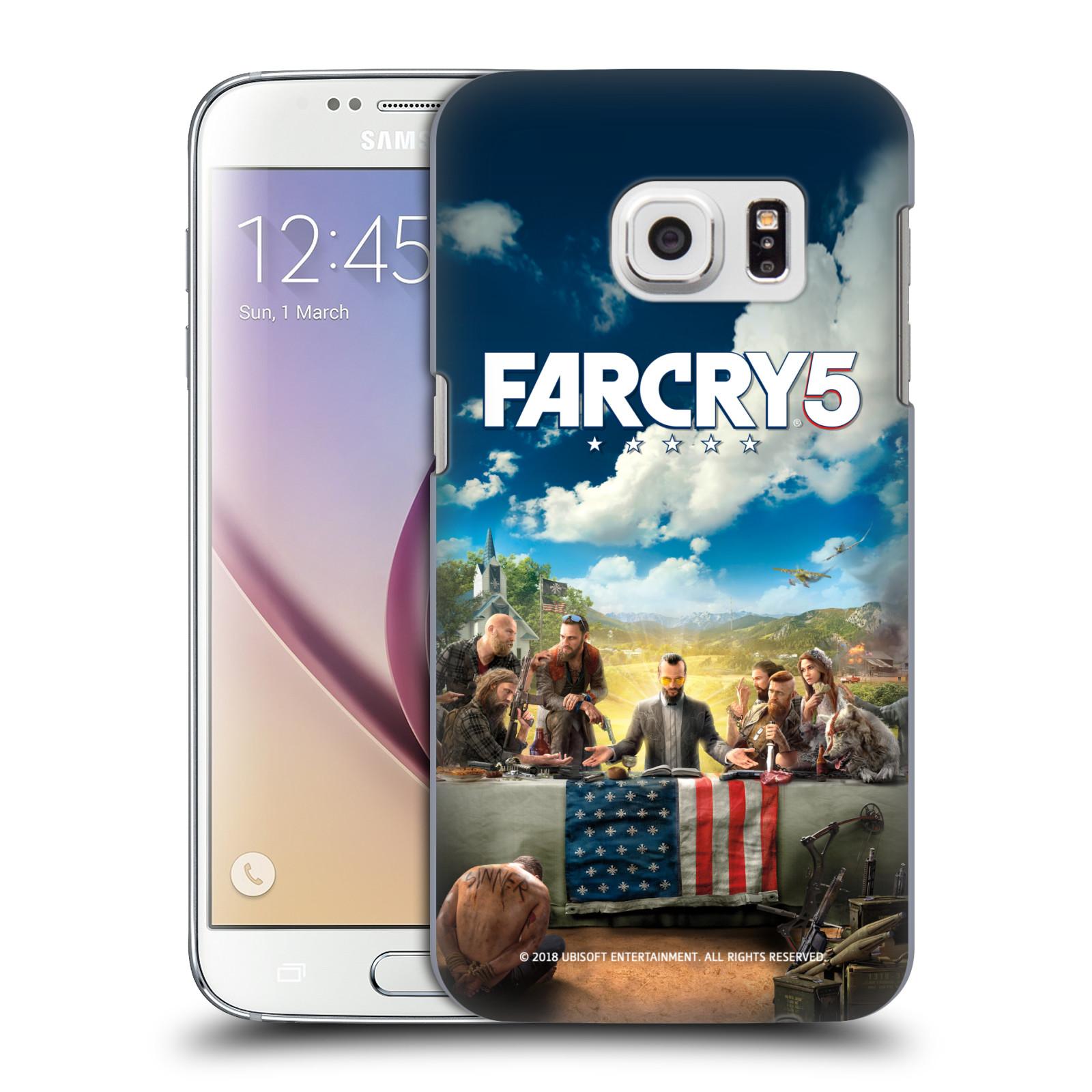 Pouzdro na mobil Samsung Galaxy S7 - HEAD CASE - Far Cry 5 poslední večeře