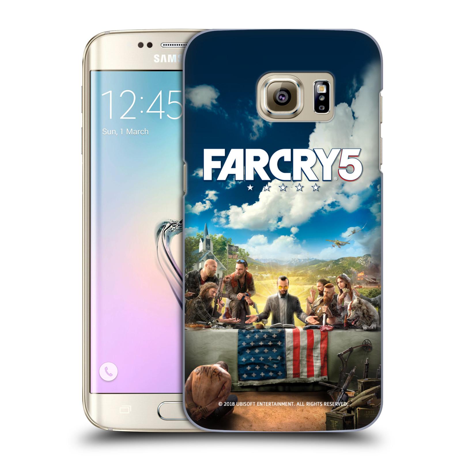 Pouzdro na mobil Samsung Galaxy S7 EDGE - HEAD CASE - Far Cry 5 poslední večeře