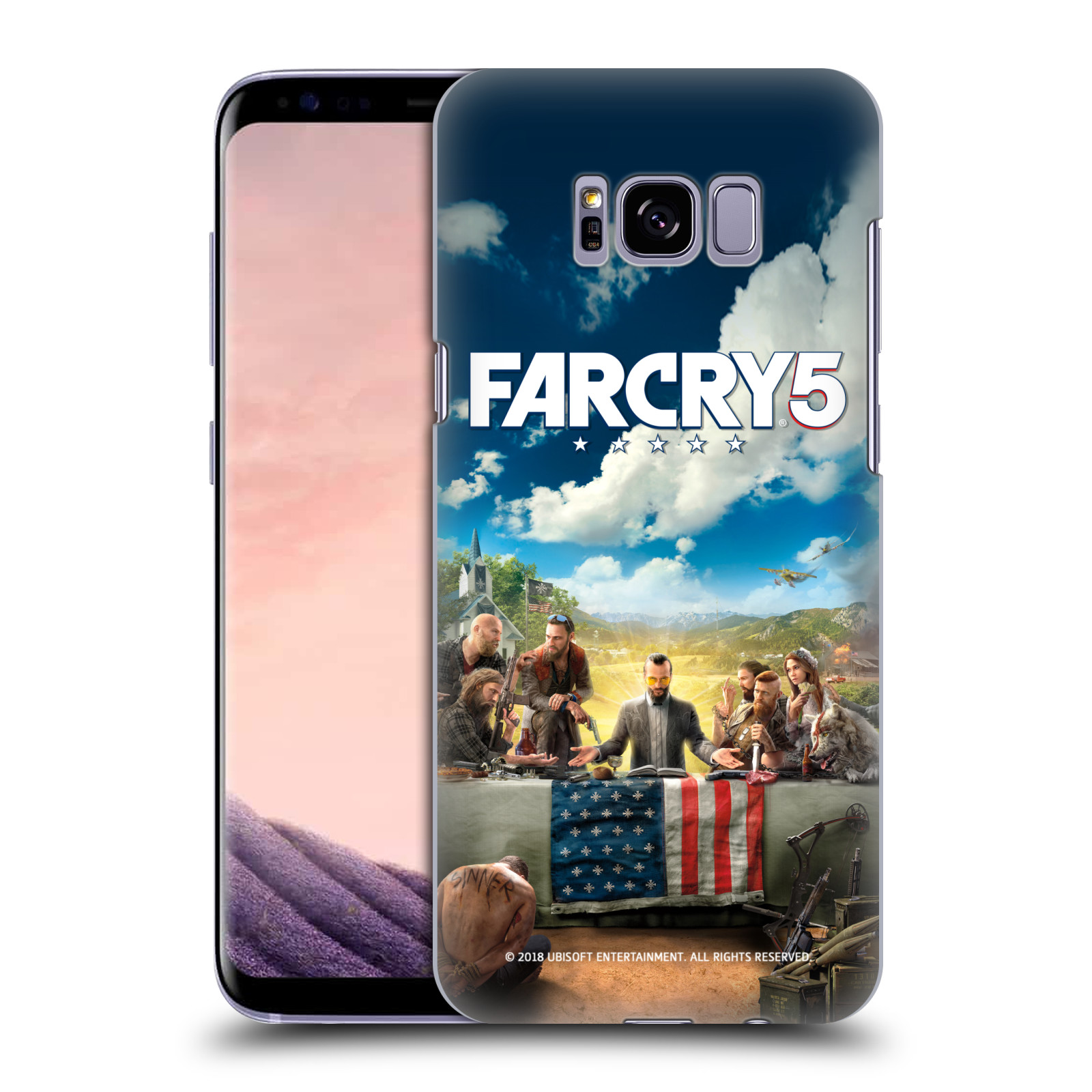 Pouzdro na mobil Samsung Galaxy S8 PLUS - HEAD CASE - Far Cry 5 poslední večeře