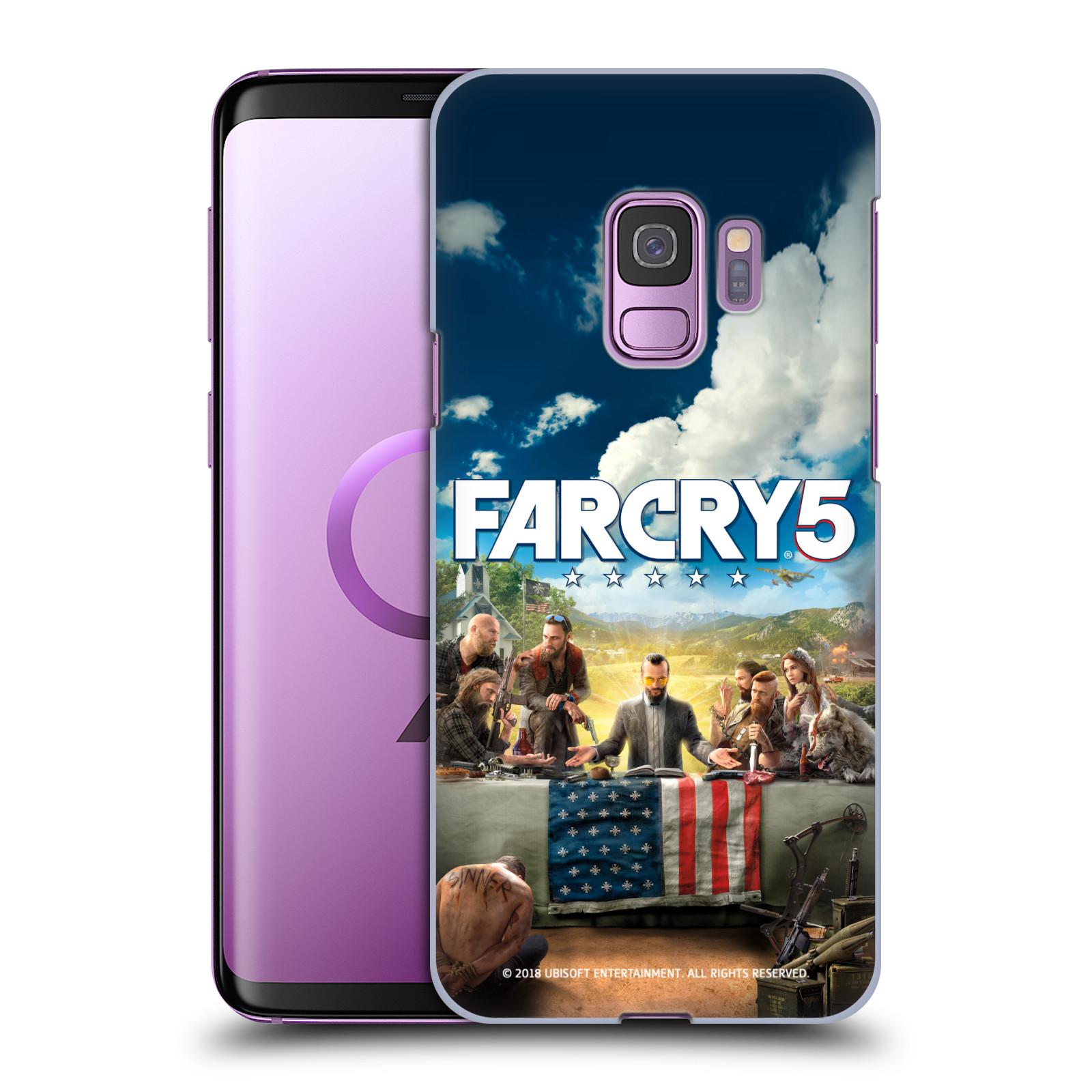 Pouzdro na mobil Samsung Galaxy S9 - HEAD CASE - Far Cry 5 poslední večeře