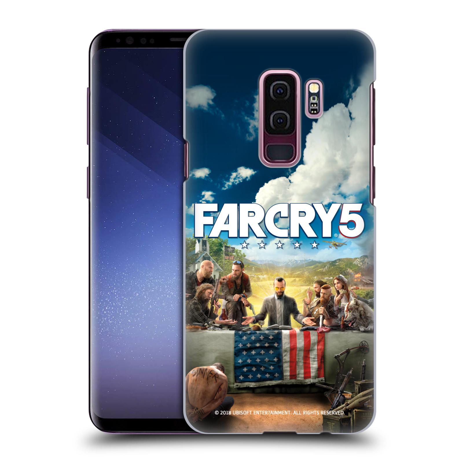 Pouzdro na mobil Samsung Galaxy S9+ / S9 PLUS - HEAD CASE - Far Cry 5 poslední večeře