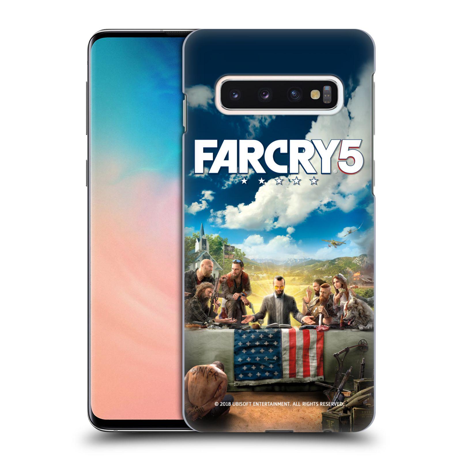 Pouzdro na mobil Samsung Galaxy S10 - HEAD CASE - Far Cry 5 poslední večeře