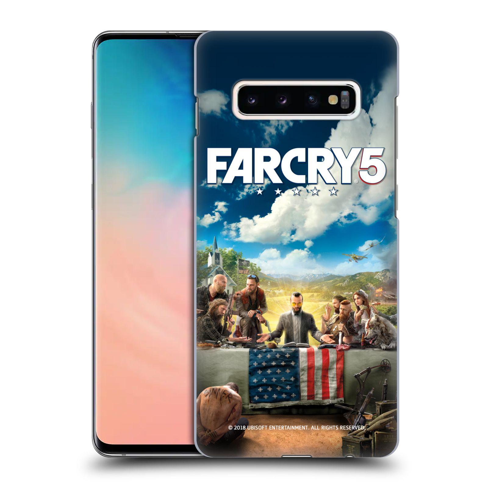 Pouzdro na mobil Samsung Galaxy S10+ - HEAD CASE - Far Cry 5 poslední večeře