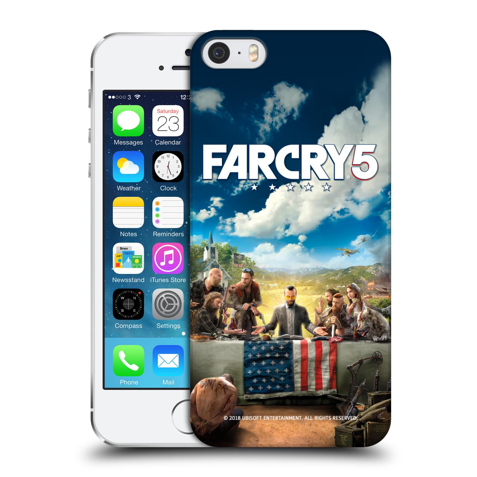 Pouzdro na mobil Apple Iphone 5/5S - HEAD CASE - Far Cry 5 poslední večeře