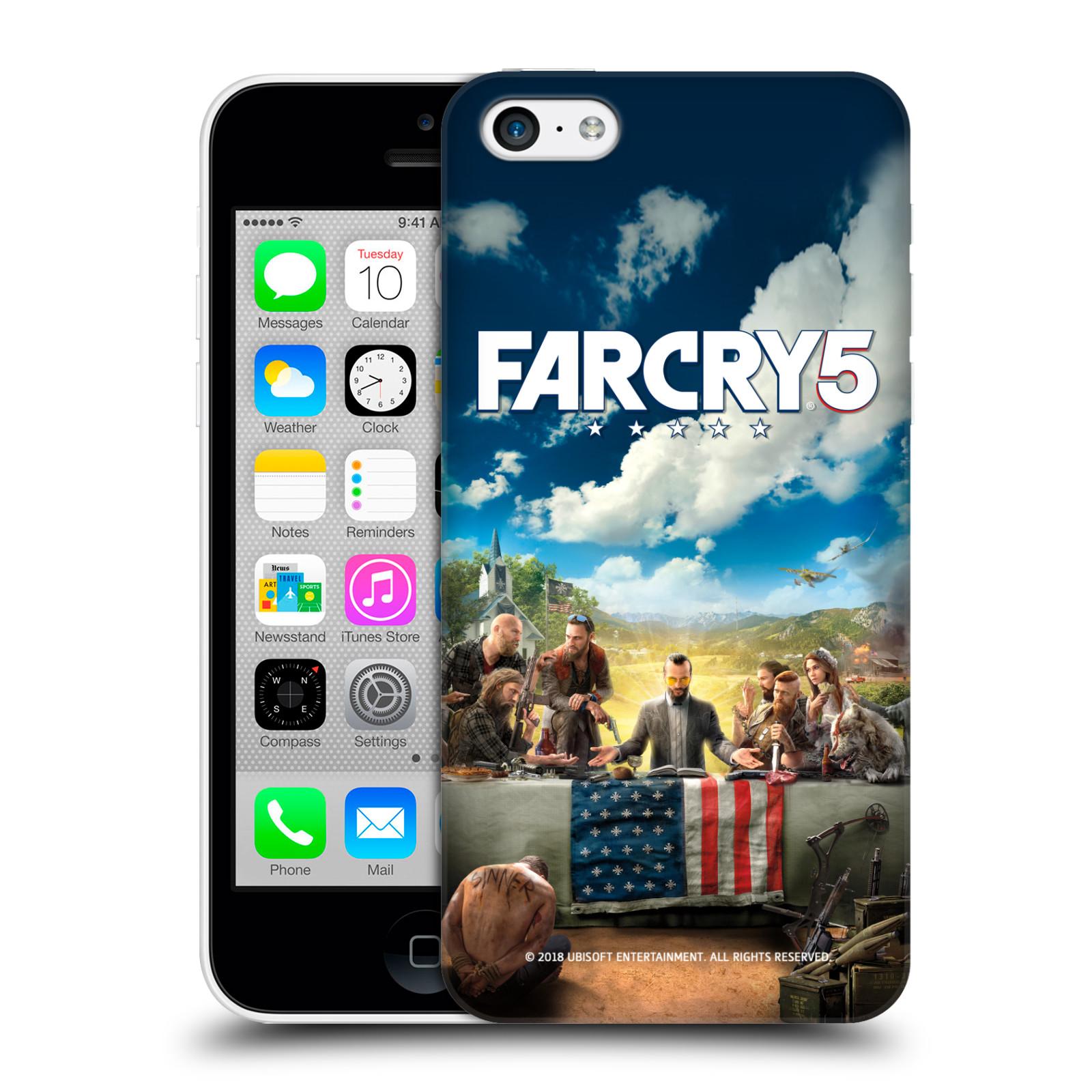 Pouzdro na mobil Apple Iphone 5C - HEAD CASE - Far Cry 5 poslední večeře