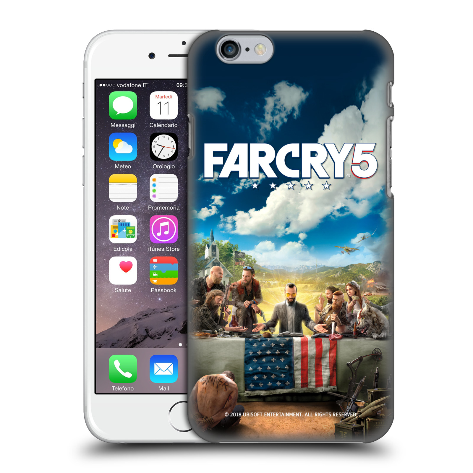 Pouzdro na mobil Apple Iphone 6/6S - HEAD CASE - Far Cry 5 poslední večeře