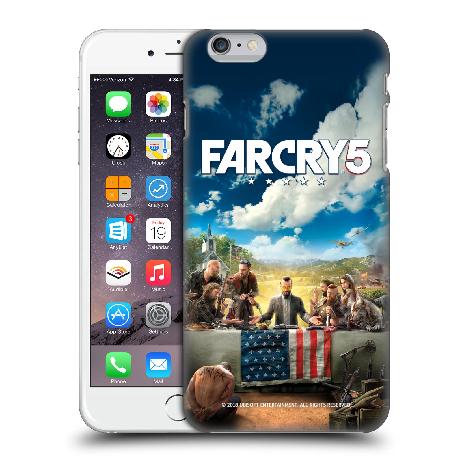 Pouzdro na mobil Apple Iphone 6/6S PLUS - HEAD CASE - Far Cry 5 poslední večeře