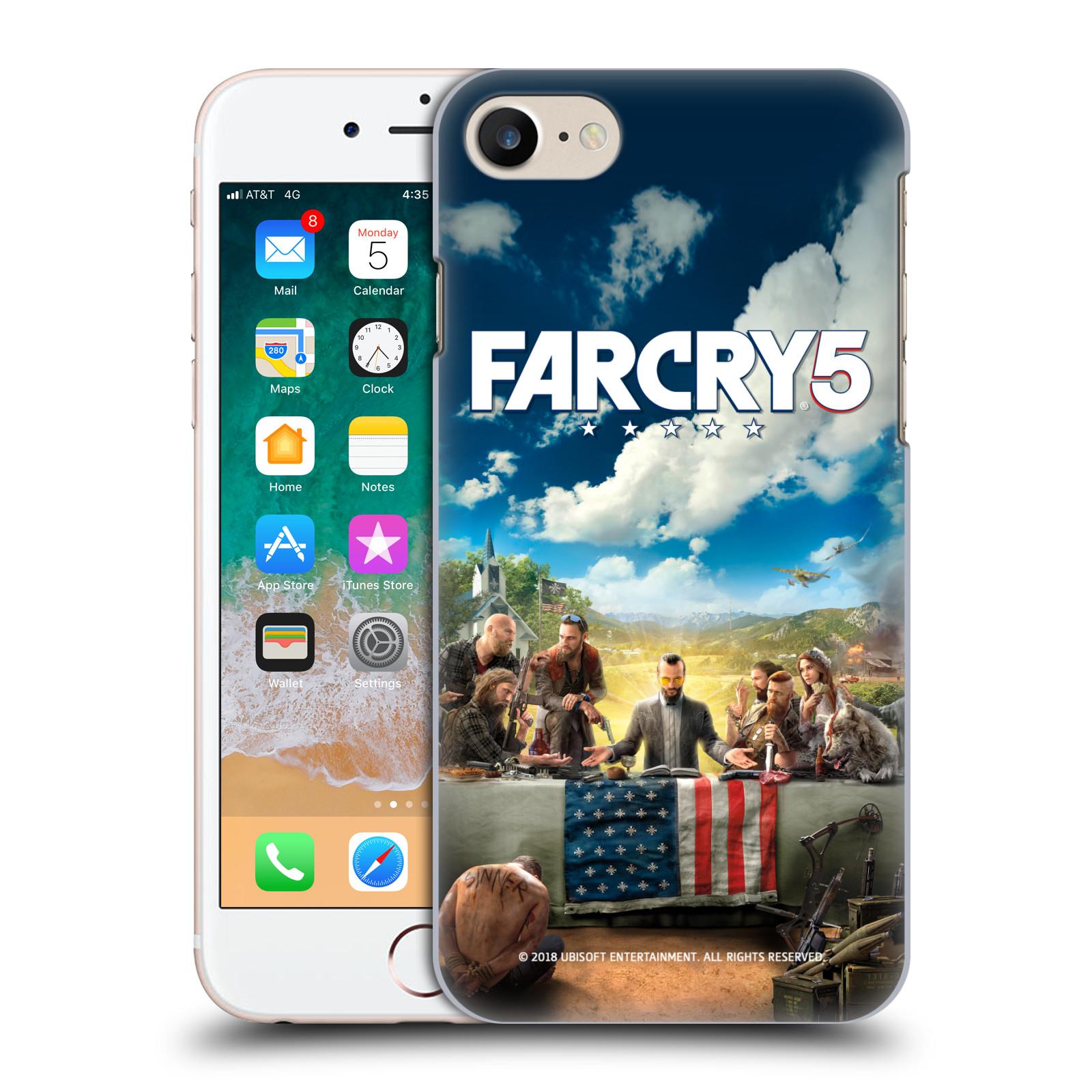 Pouzdro na mobil Apple Iphone 7/8 - HEAD CASE - Far Cry 5 poslední večeře