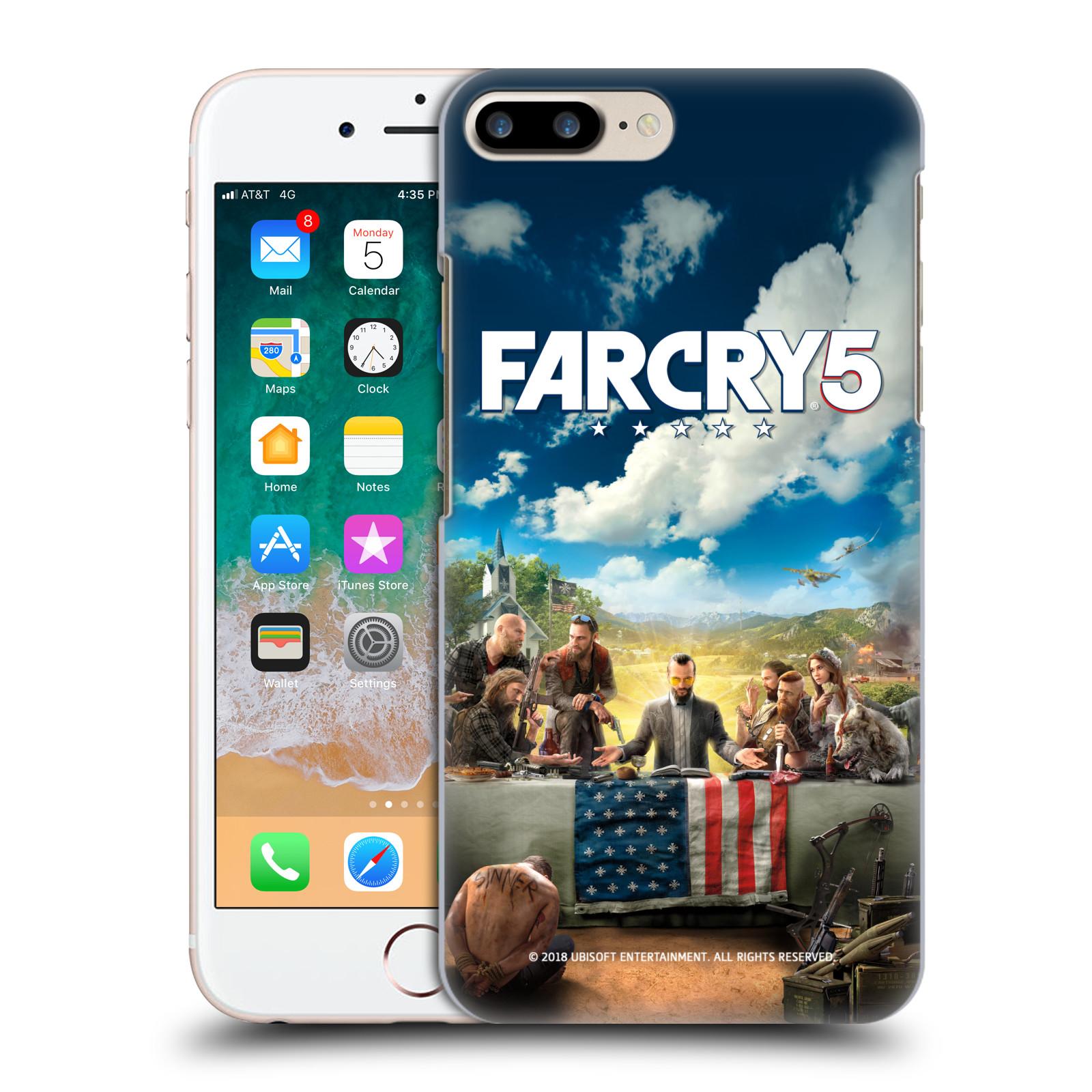 Pouzdro na mobil Apple Iphone 7/8 PLUS - HEAD CASE - Far Cry 5 poslední večeře