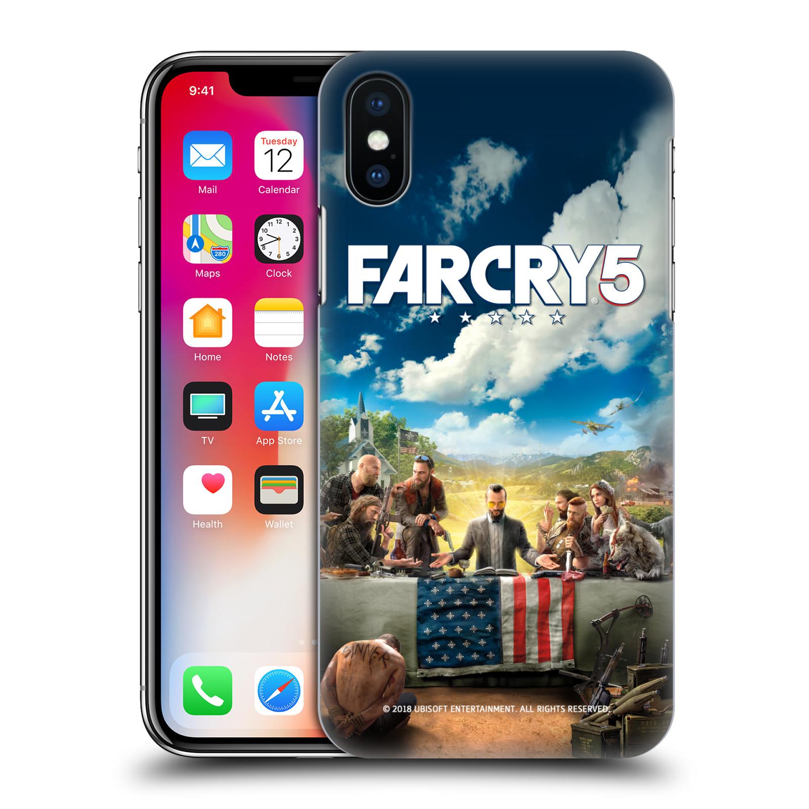 Pouzdro na mobil Apple Iphone X/XS - HEAD CASE - Far Cry 5 poslední večeře