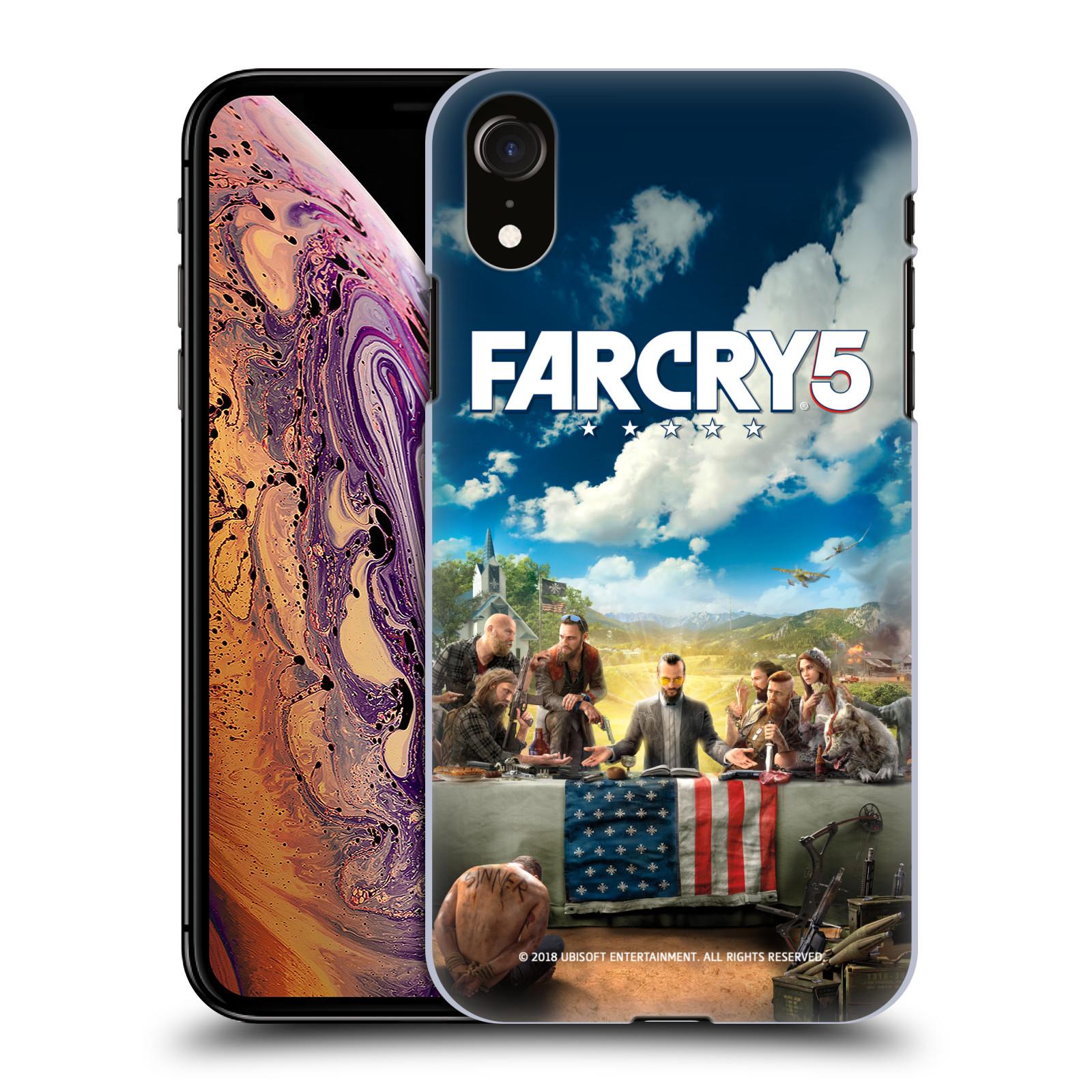 Pouzdro na mobil Apple Iphone XR - HEAD CASE - Far Cry 5 poslední večeře