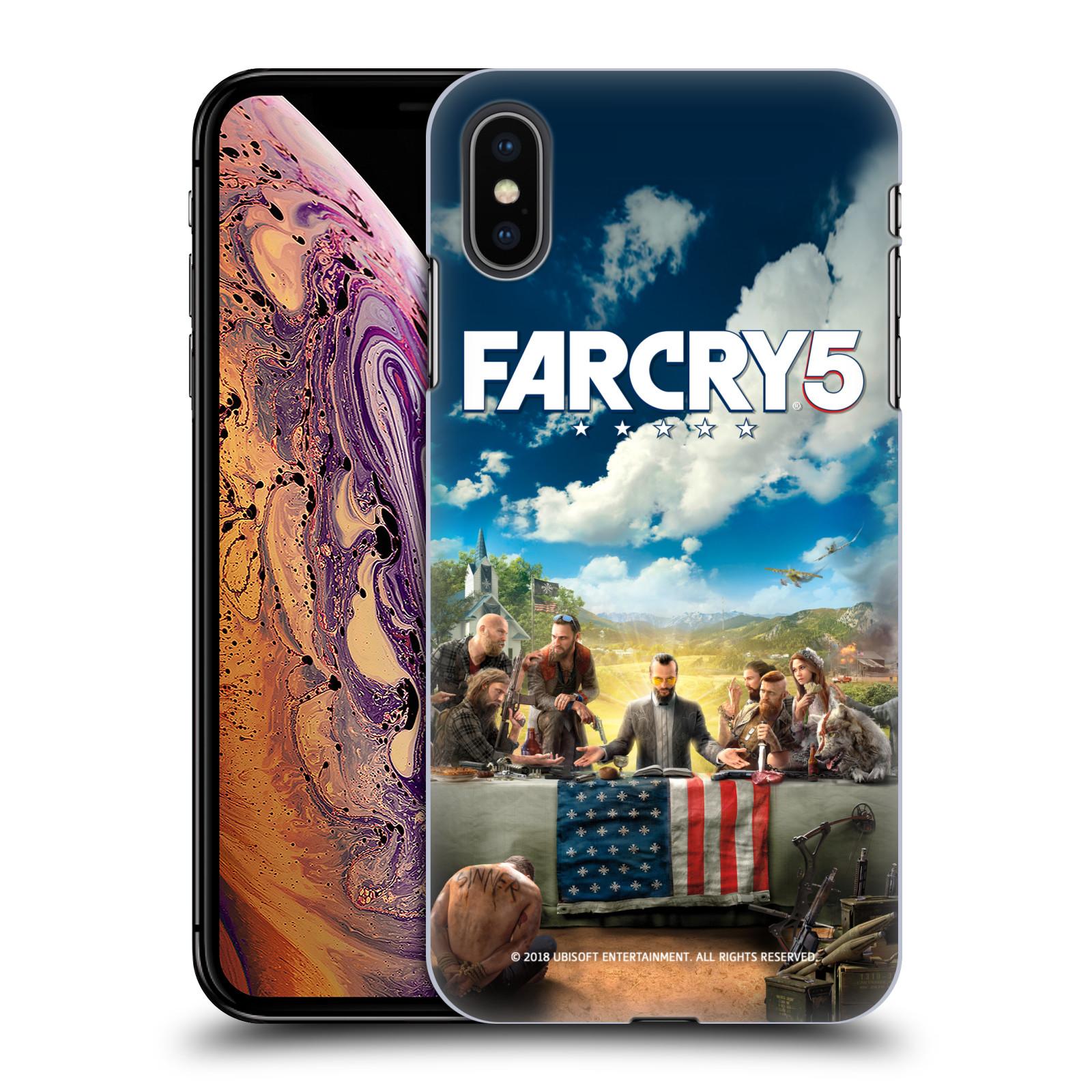 Pouzdro na mobil Apple Iphone XS MAX - HEAD CASE - Far Cry 5 poslední večeře