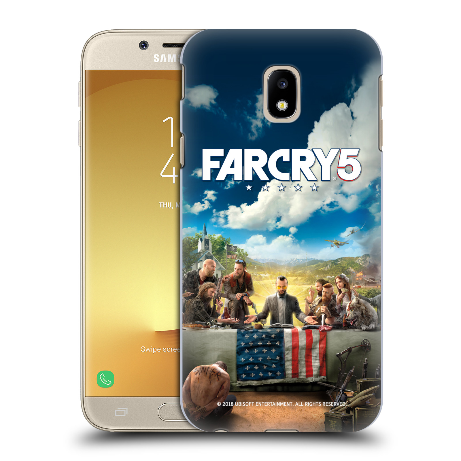 Pouzdro na mobil Samsung Galaxy J3 2017 (J330, J330F) - HEAD CASE - Far Cry 5 poslední večeře