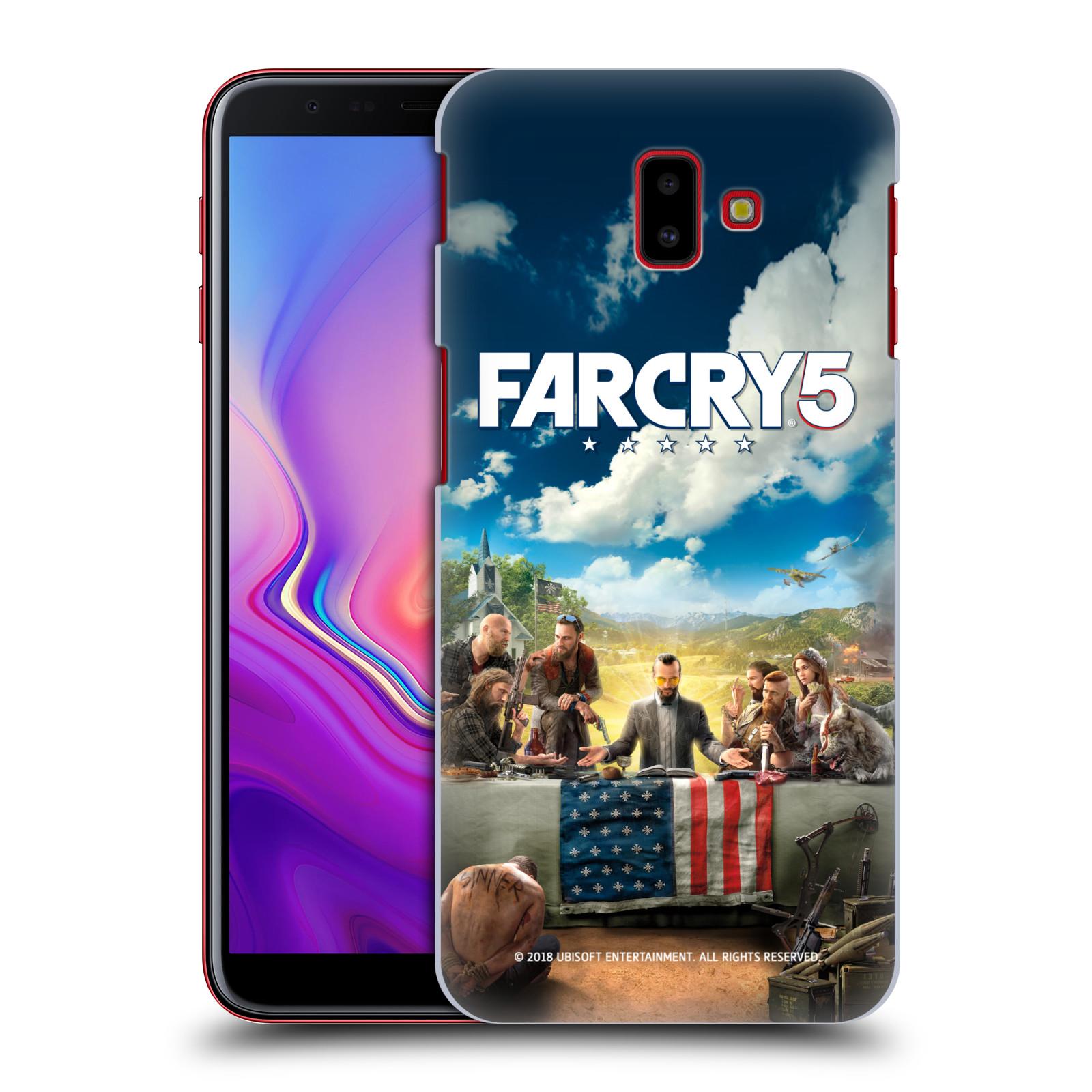 Pouzdro na mobil Samsung Galaxy J6+ - HEAD CASE - Far Cry 5 poslední večeře