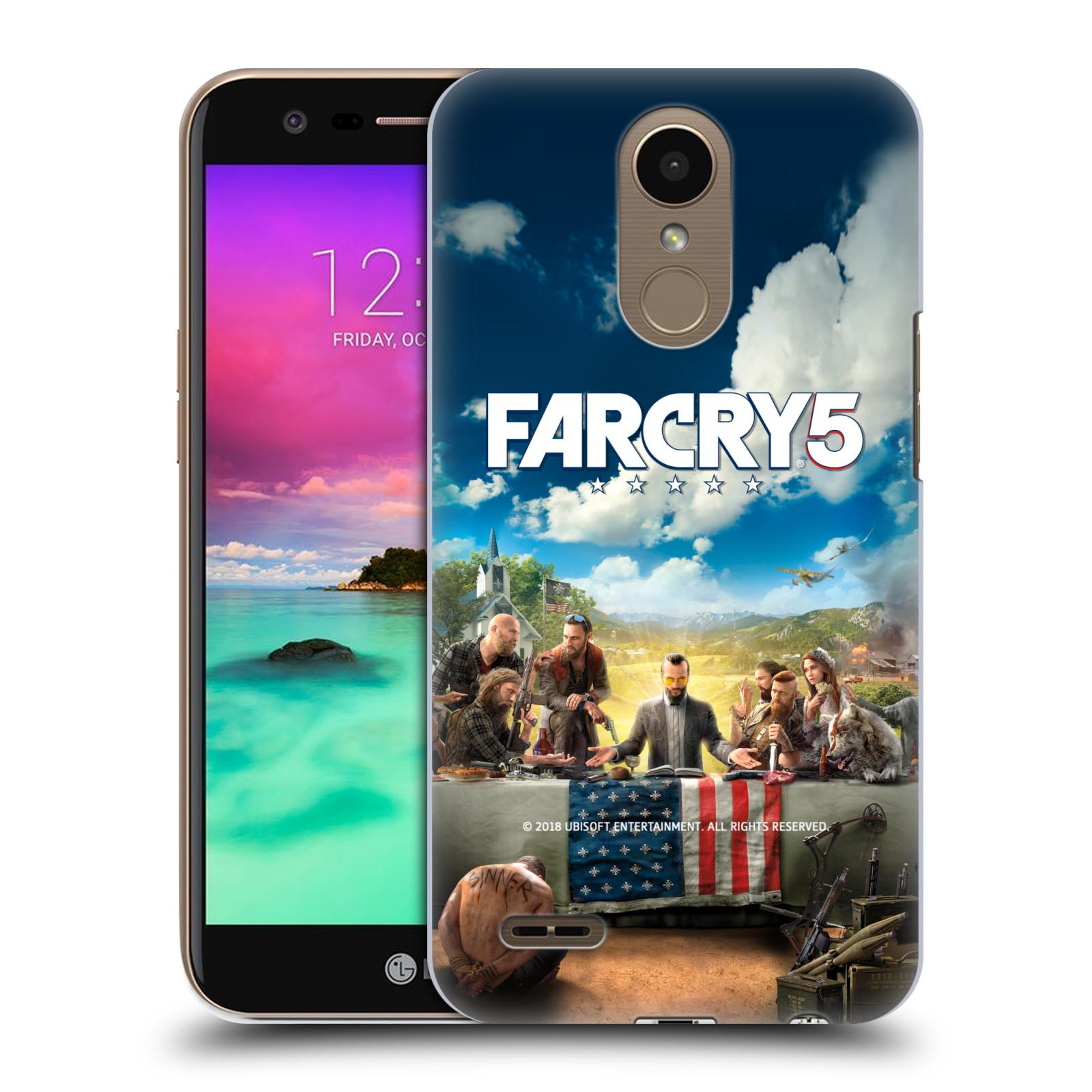 Pouzdro na mobil LG K10 2017 / K10 2017 DUAL SIM - HEAD CASE - Far Cry 5 poslední večeře