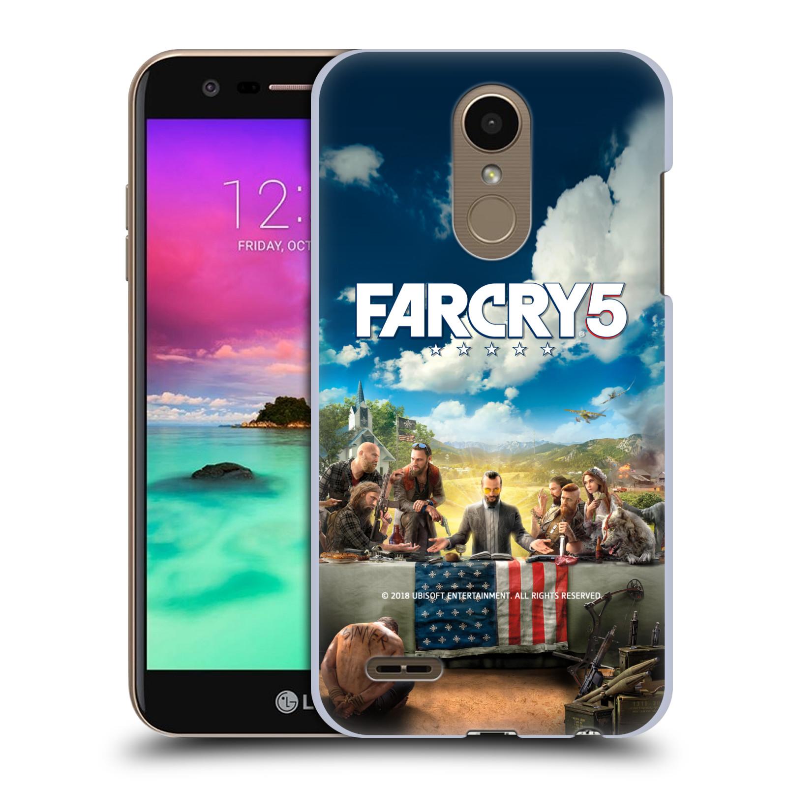 Pouzdro na mobil LG K10 2018 - HEAD CASE - Far Cry 5 poslední večeře