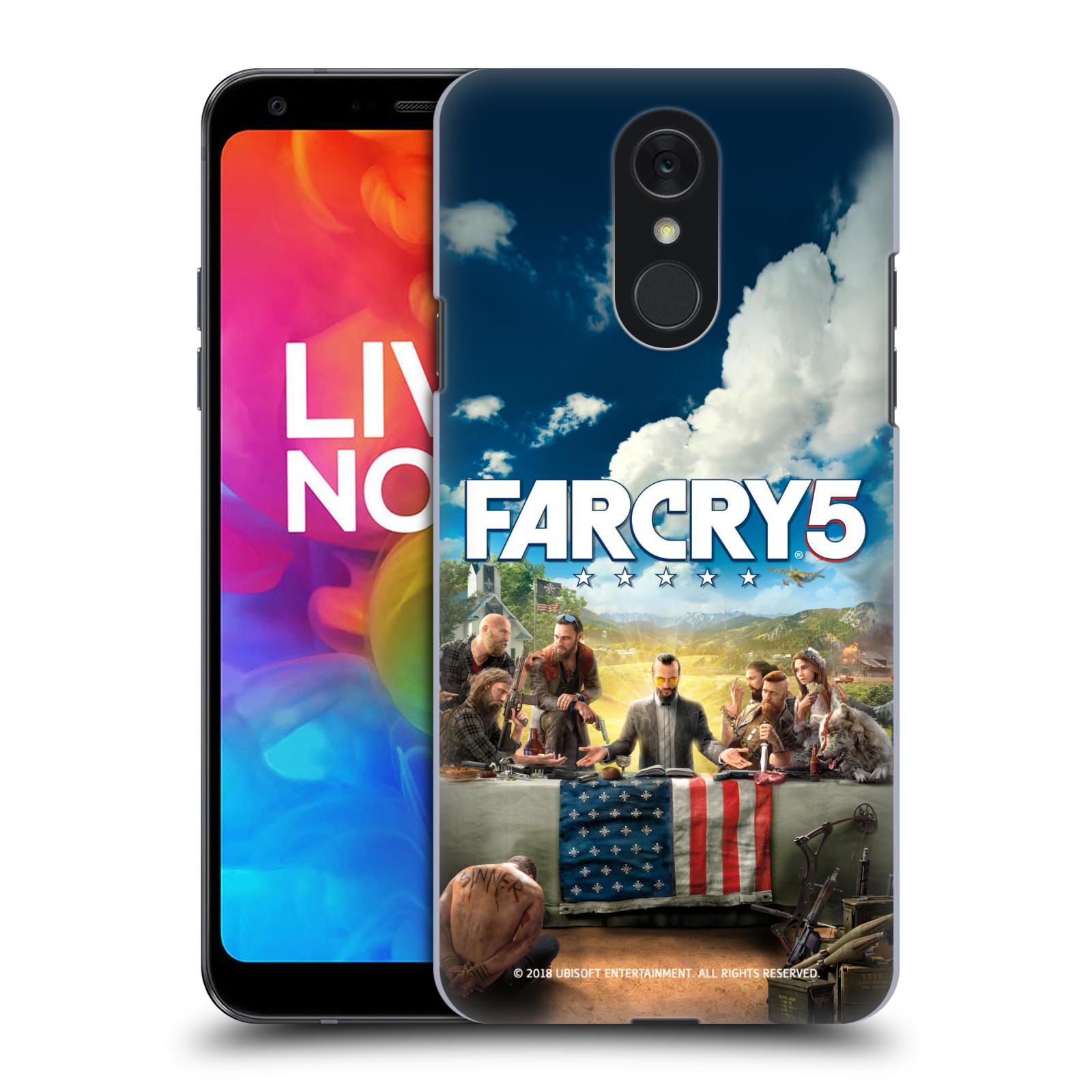 Pouzdro na mobil LG Q7 - HEAD CASE - Far Cry 5 poslední večeře
