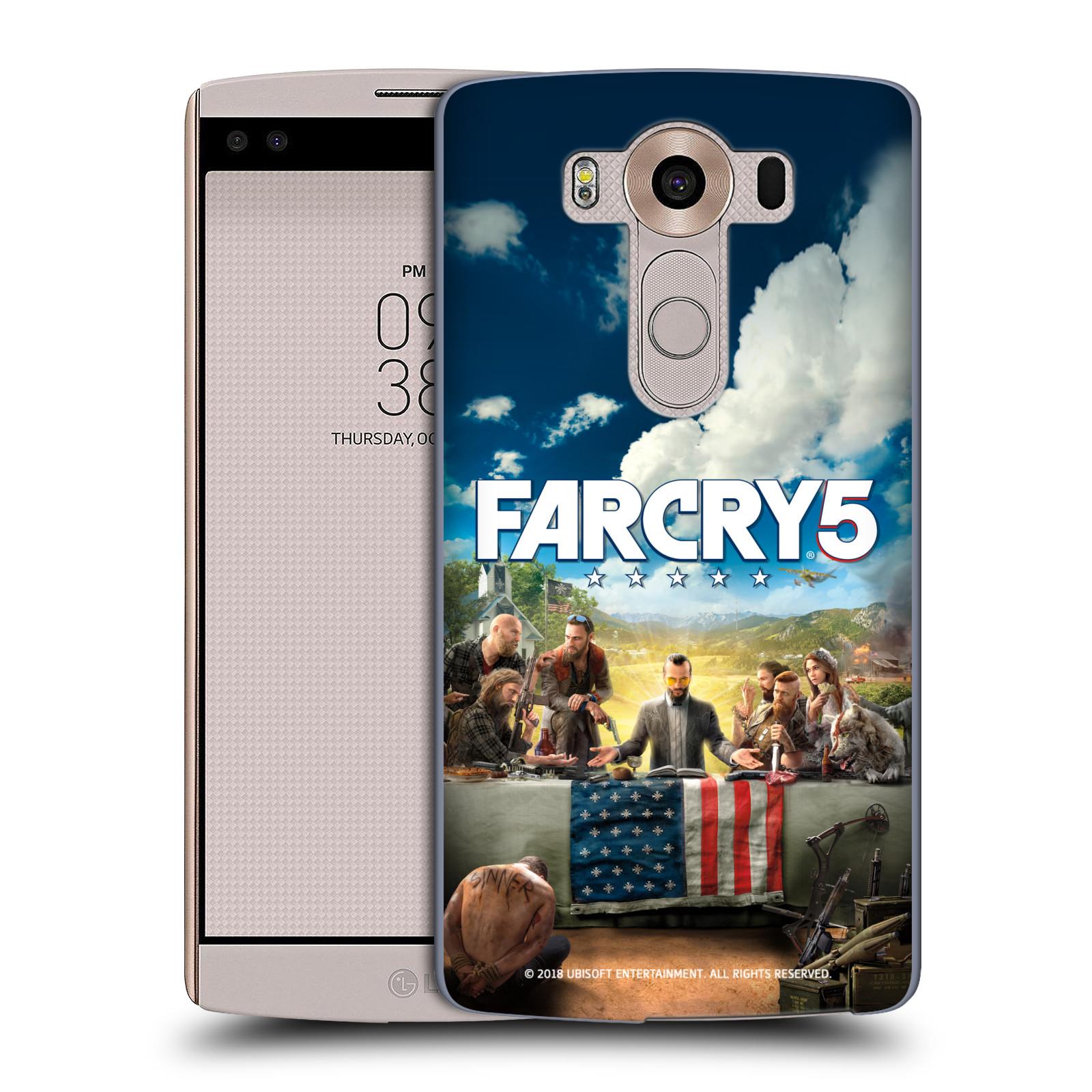 Pouzdro na mobil LG V10 - HEAD CASE - Far Cry 5 poslední večeře