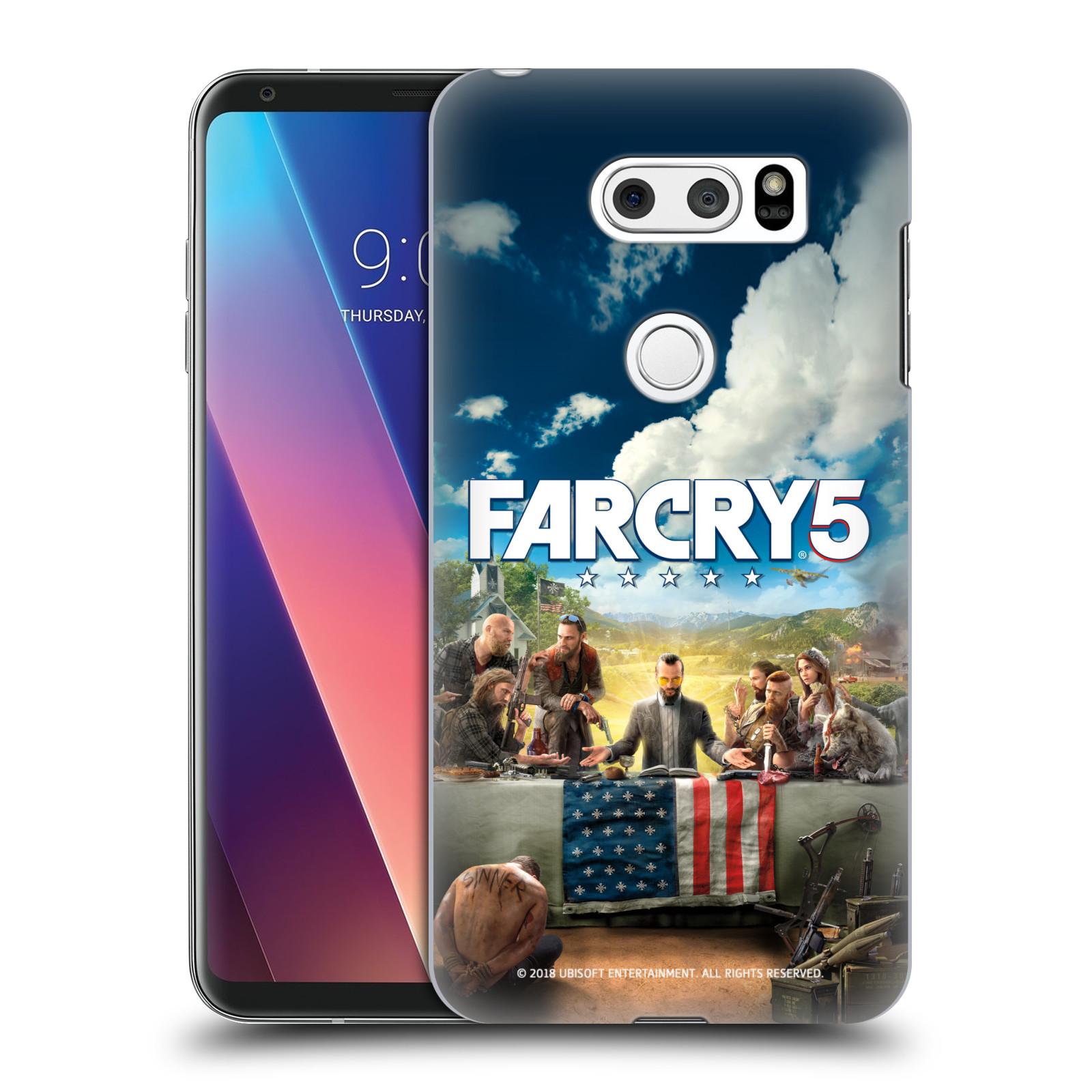 Pouzdro na mobil LG V30 - HEAD CASE - Far Cry 5 poslední večeře