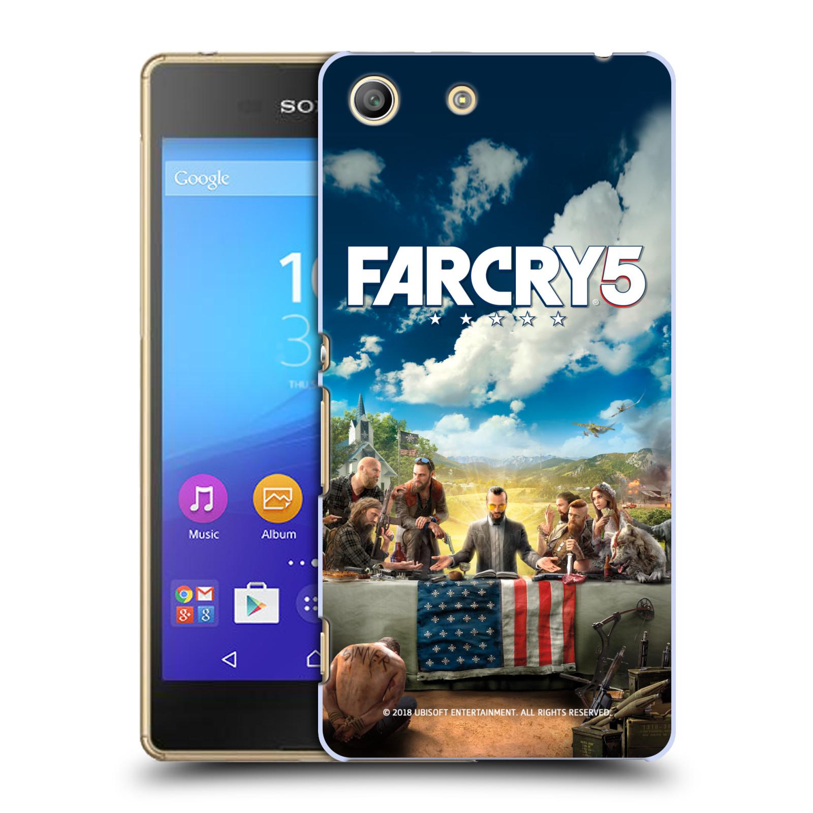 Pouzdro na mobil Sony Xperia M5 - HEAD CASE - Far Cry 5 poslední večeře