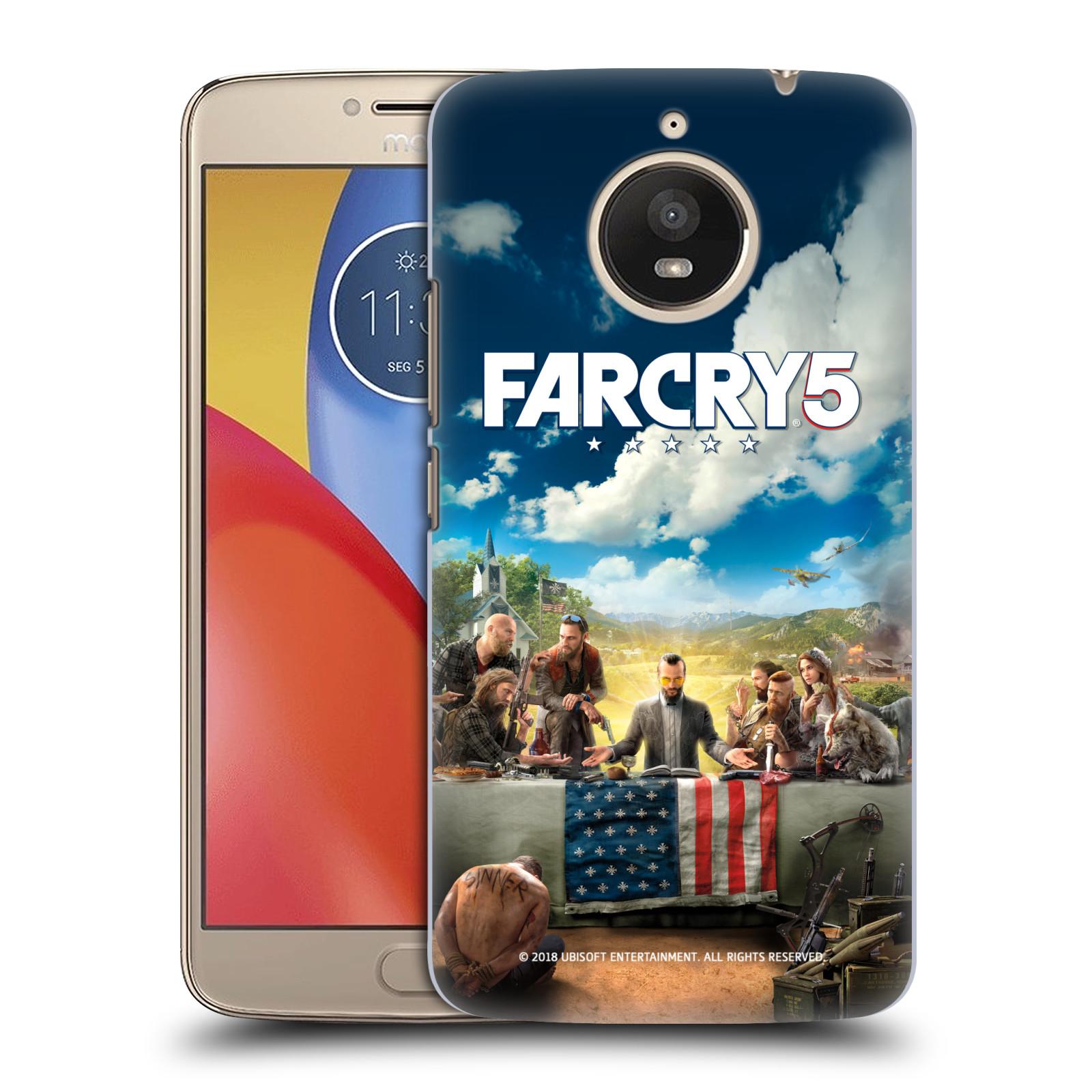 Pouzdro na mobil Lenovo Moto E4 PLUS - HEAD CASE - Far Cry 5 poslední večeře
