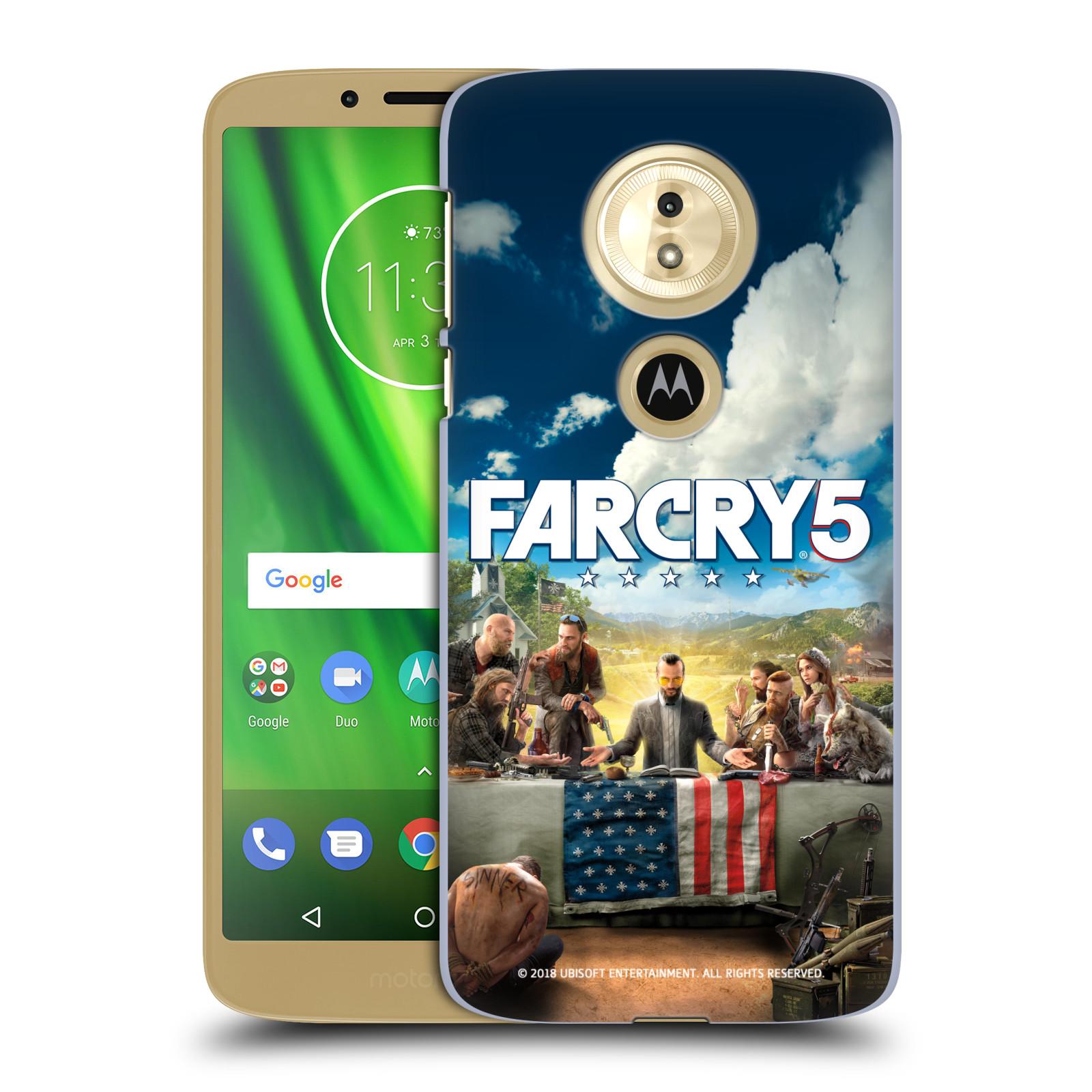 Pouzdro na mobil Motorola Moto E5 - HEAD CASE - Far Cry 5 poslední večeře