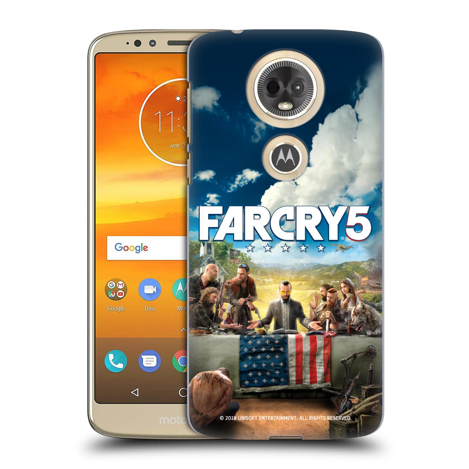 Pouzdro na mobil Motorola Moto E5 PLUS - HEAD CASE - Far Cry 5 poslední večeře